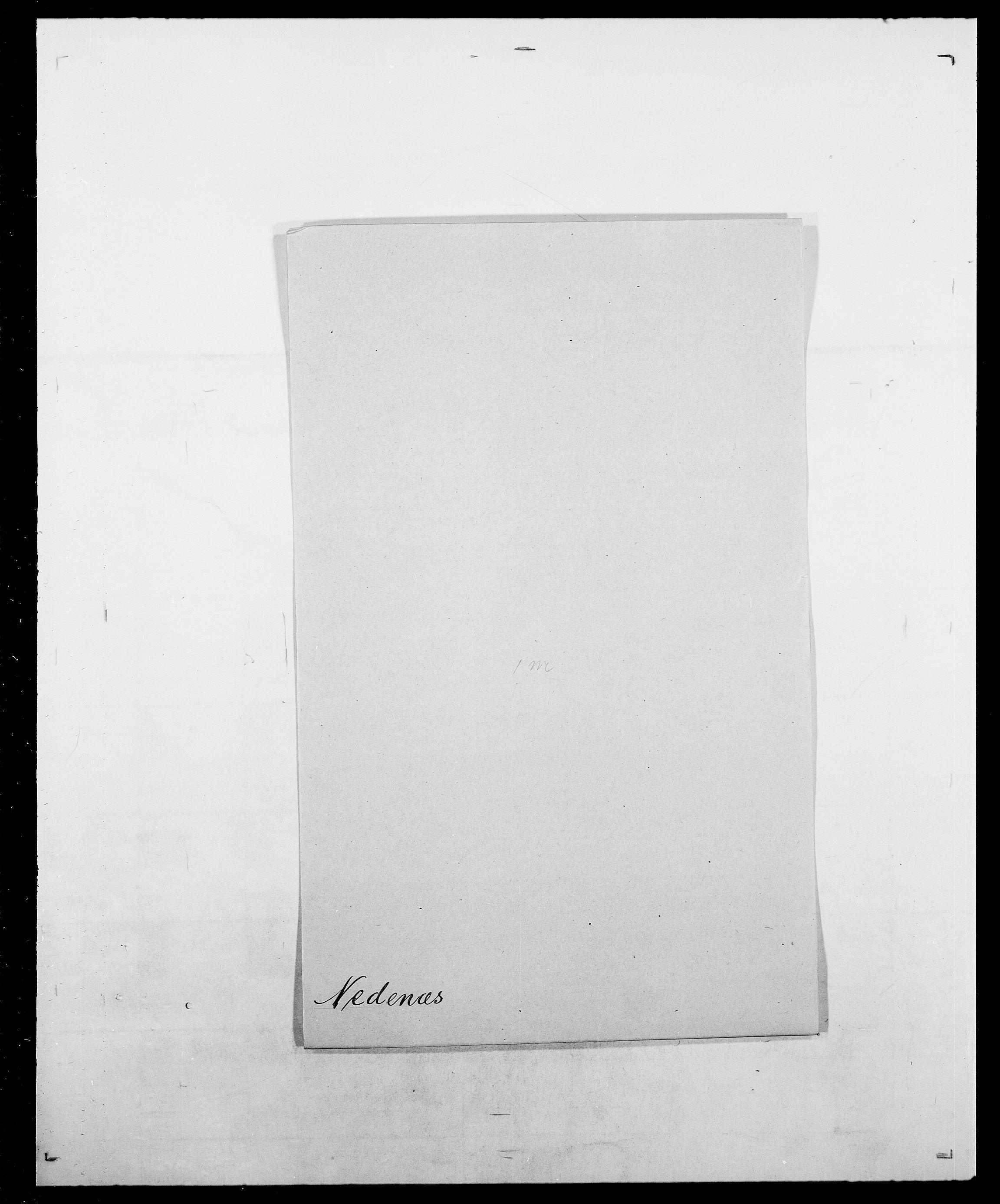 SAO, Delgobe, Charles Antoine - samling, D/Da/L0028: Naaden - Nøvik, s. 82