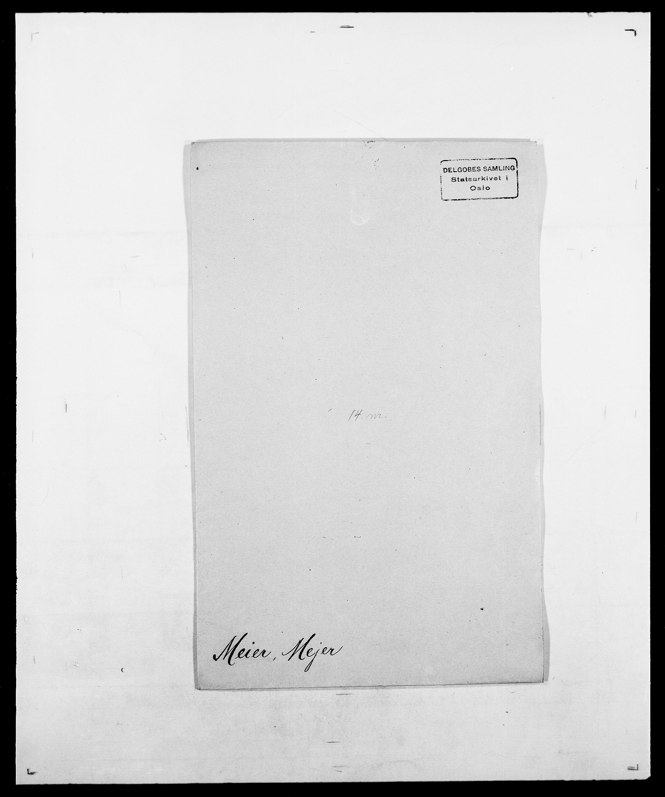 SAO, Delgobe, Charles Antoine - samling, D/Da/L0026: Mechelby - Montoppidan, s. 175