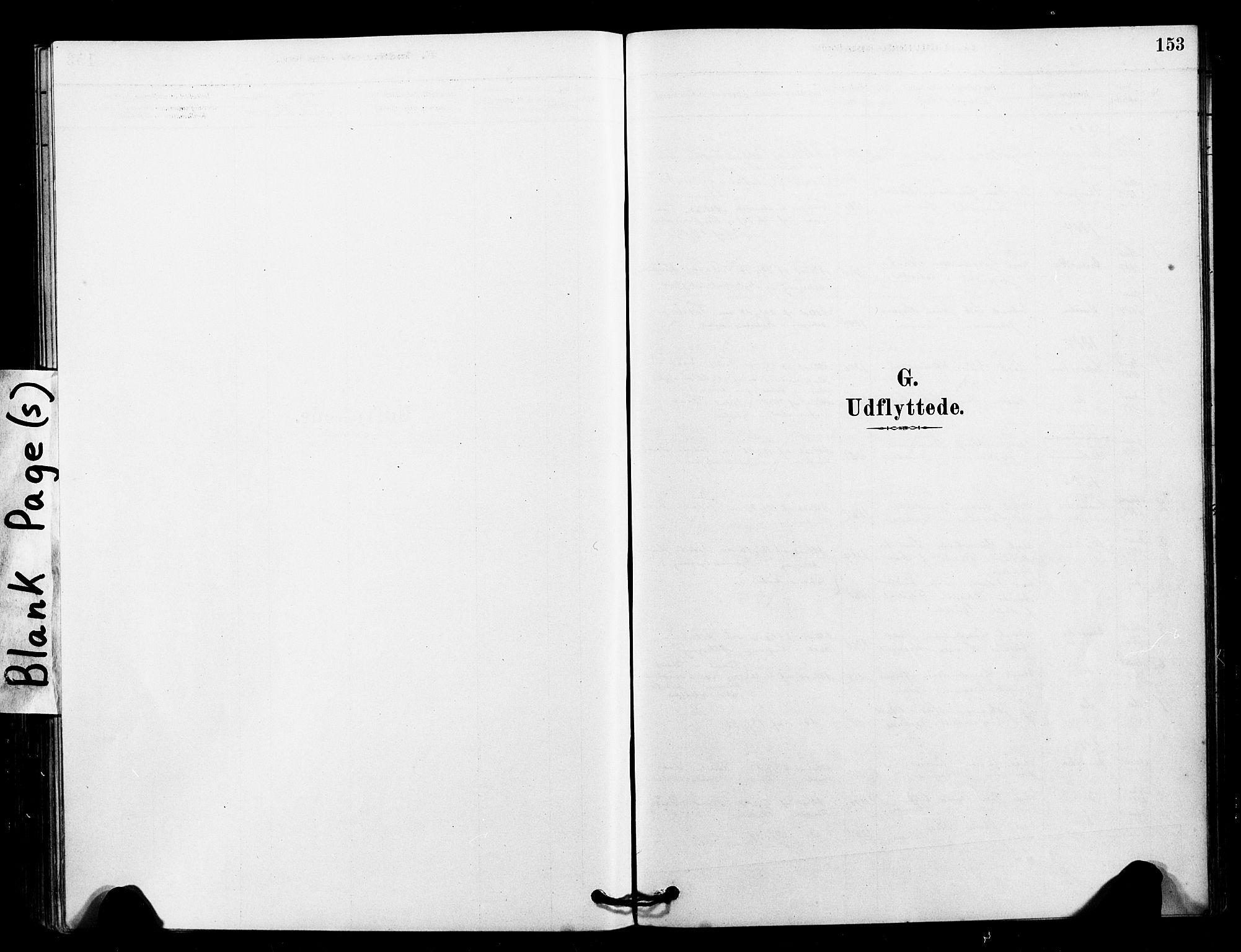 SAT, Ministerialprotokoller, klokkerbøker og fødselsregistre - Sør-Trøndelag, 641/L0595: Ministerialbok nr. 641A01, 1882-1897, s. 153