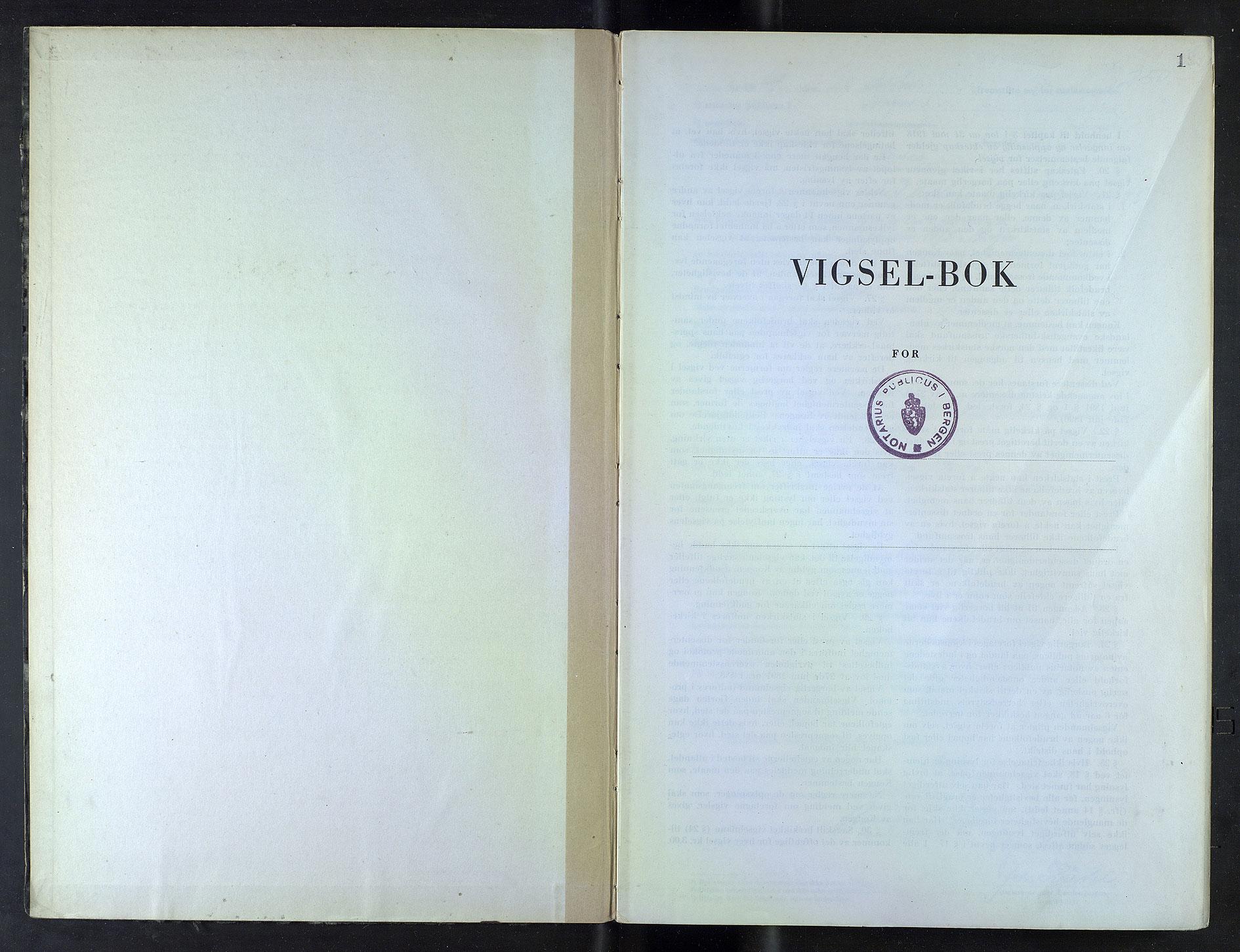 SAB, Bergen byfogd og byskriver*, 1949-1950, s. 1
