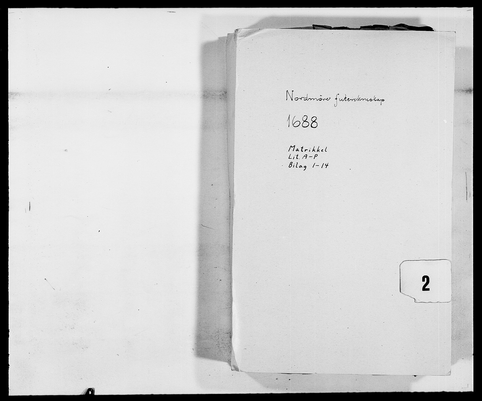 RA, Rentekammeret inntil 1814, Reviderte regnskaper, Fogderegnskap, R56/L3733: Fogderegnskap Nordmøre, 1687-1689, s. 134