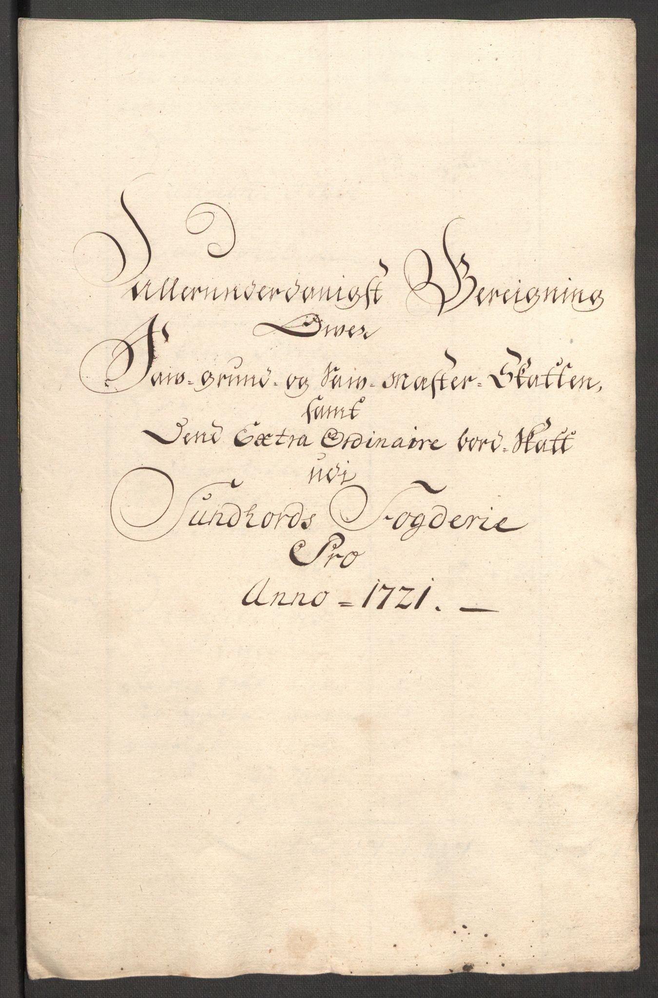 RA, Rentekammeret inntil 1814, Reviderte regnskaper, Fogderegnskap, R48/L3000: Fogderegnskap Sunnhordland og Hardanger, 1721, s. 76