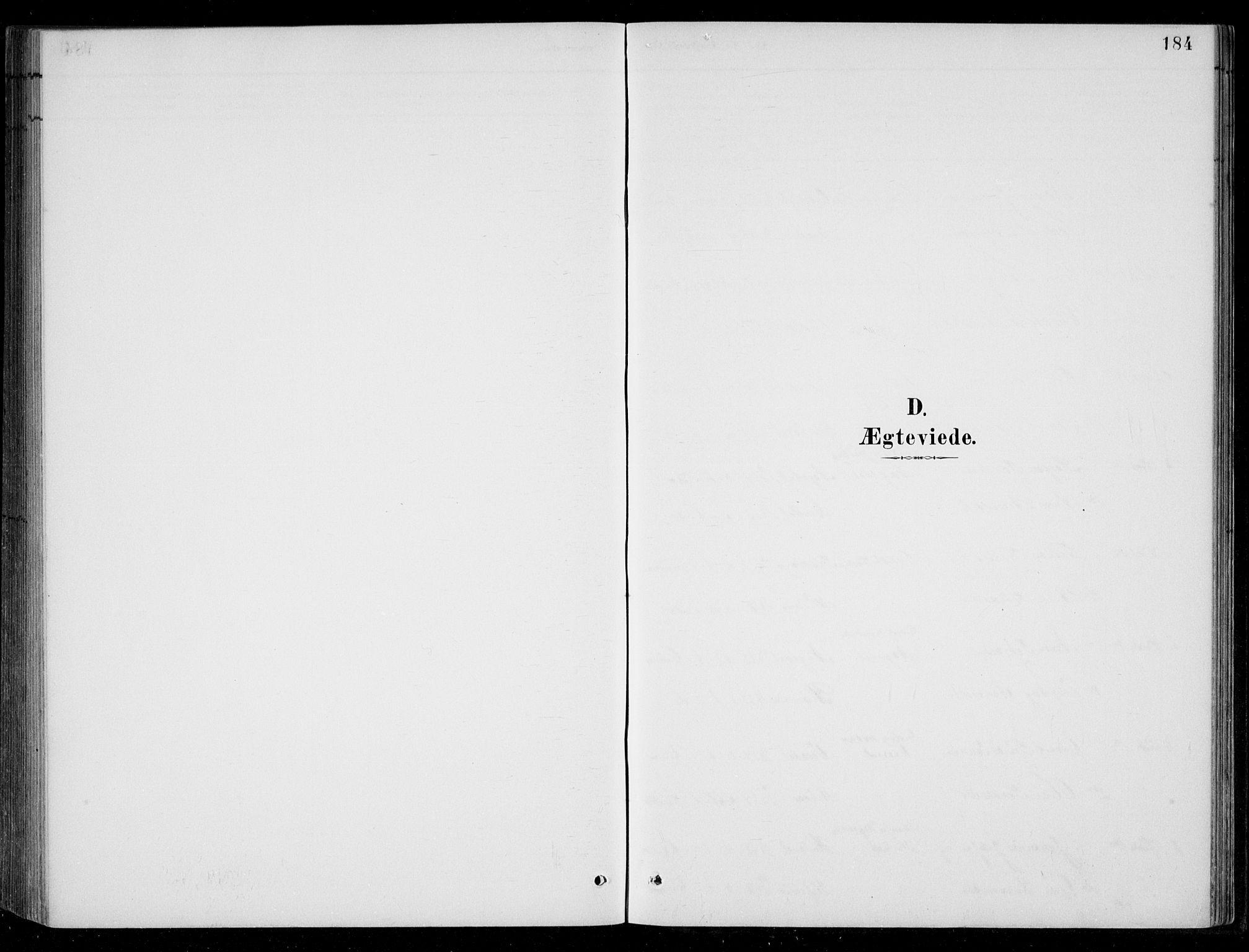 SAK, Bjelland sokneprestkontor, F/Fb/Fbc/L0003: Klokkerbok nr. B 3, 1887-1924, s. 184