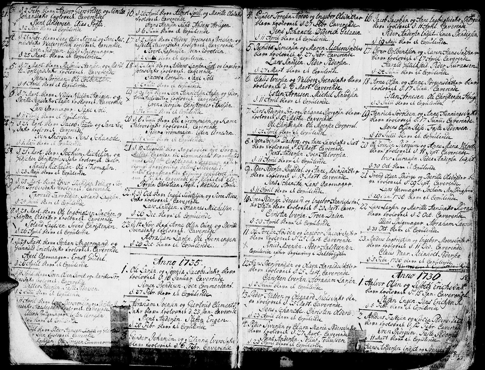SAT, Ministerialprotokoller, klokkerbøker og fødselsregistre - Sør-Trøndelag, 681/L0925: Ministerialbok nr. 681A03, 1727-1766, s. 4