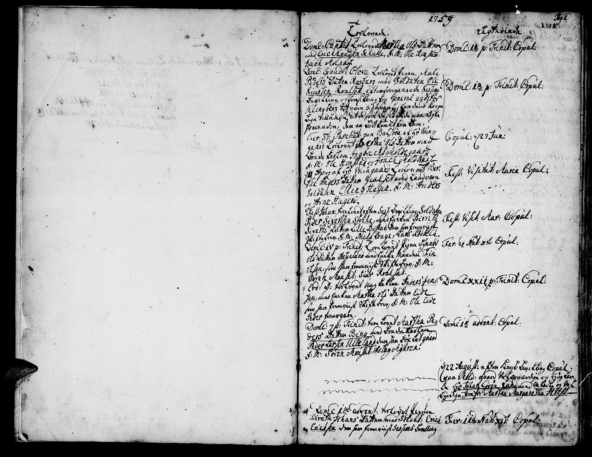 SAT, Ministerialprotokoller, klokkerbøker og fødselsregistre - Møre og Romsdal, 555/L0648: Ministerialbok nr. 555A01, 1759-1793, s. 1