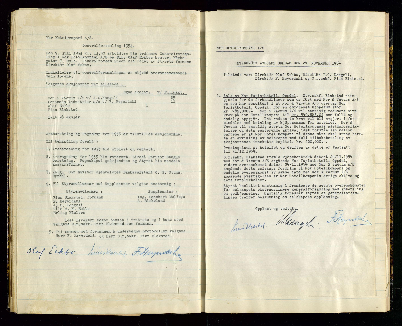 SAST, PA 1516 - Nor Hotellkompani A/S, A/L0001: Referatprotokoll, 1948-1855, s. 37