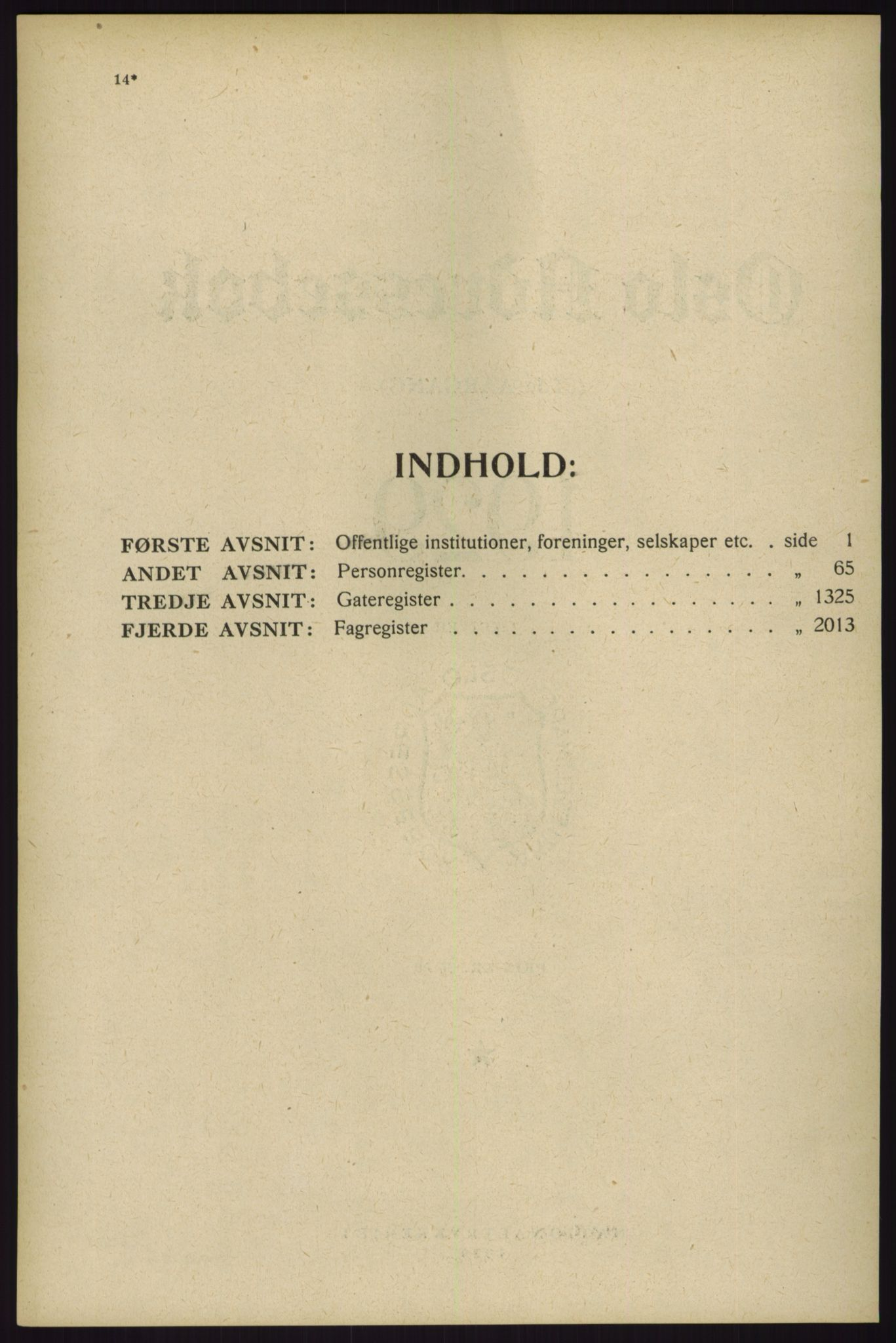 RA, Oslo adressebok (publikasjon)*, 1929, s. 14