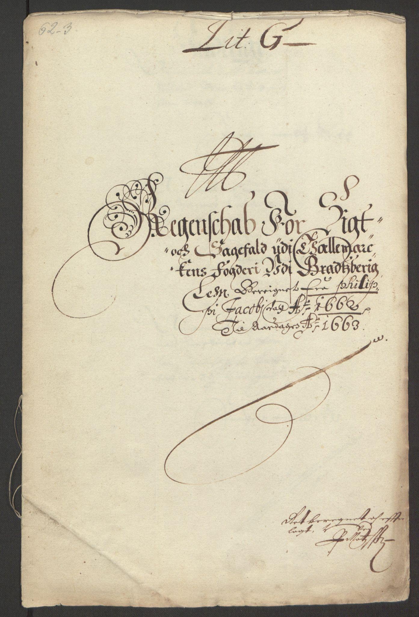 RA, Rentekammeret inntil 1814, Reviderte regnskaper, Fogderegnskap, R35/L2054: Fogderegnskap Øvre og Nedre Telemark, 1662-1663, s. 237