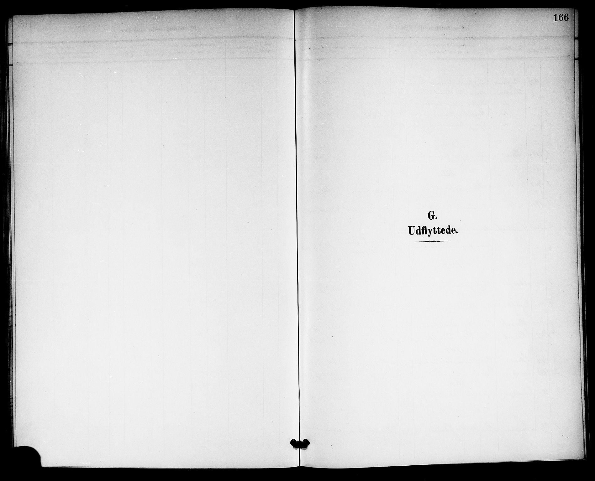 SAKO, Langesund kirkebøker, G/Ga/L0006: Klokkerbok nr. 6, 1899-1918, s. 166