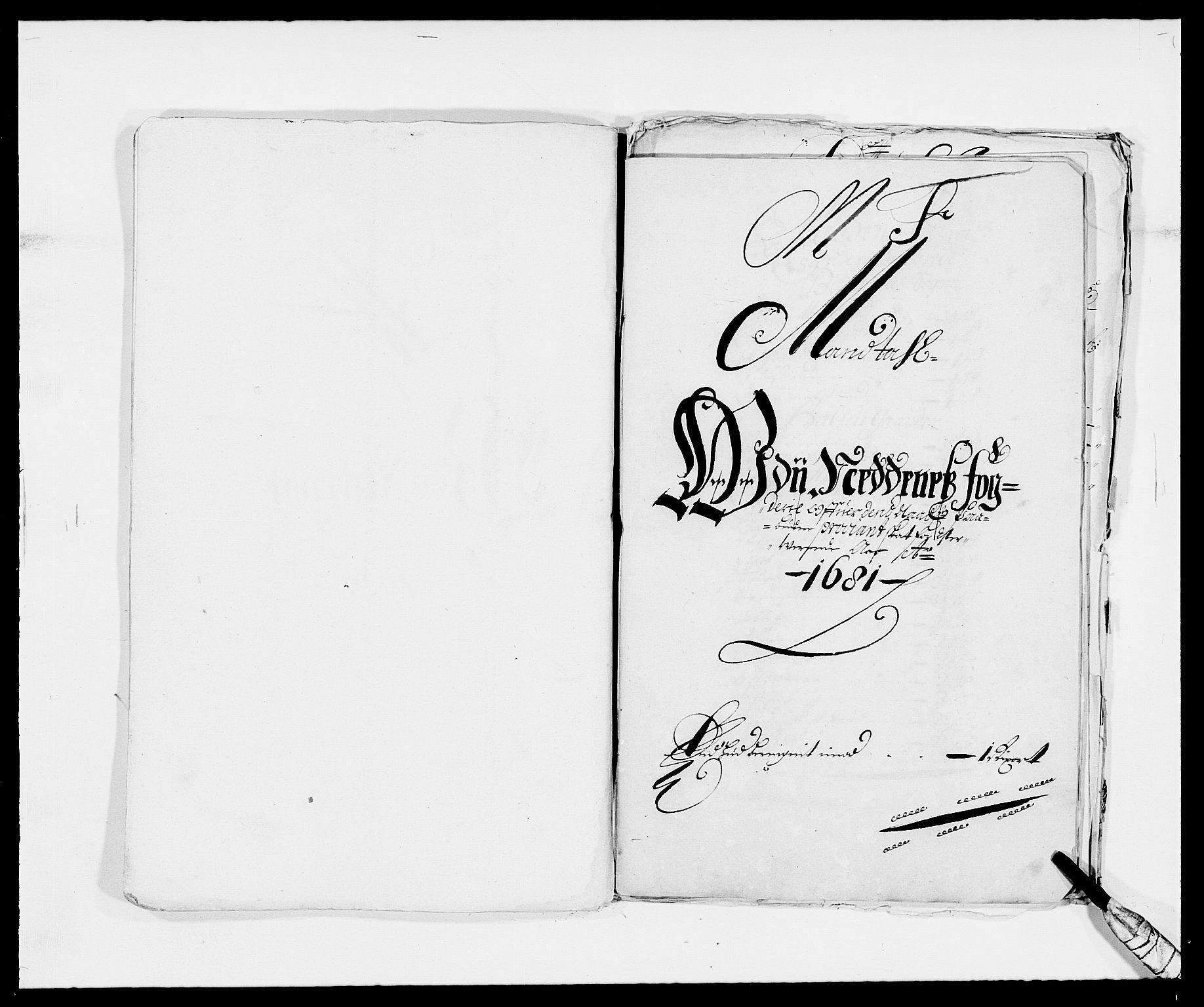 RA, Rentekammeret inntil 1814, Reviderte regnskaper, Fogderegnskap, R39/L2304: Fogderegnskap Nedenes, 1680-1682, s. 268