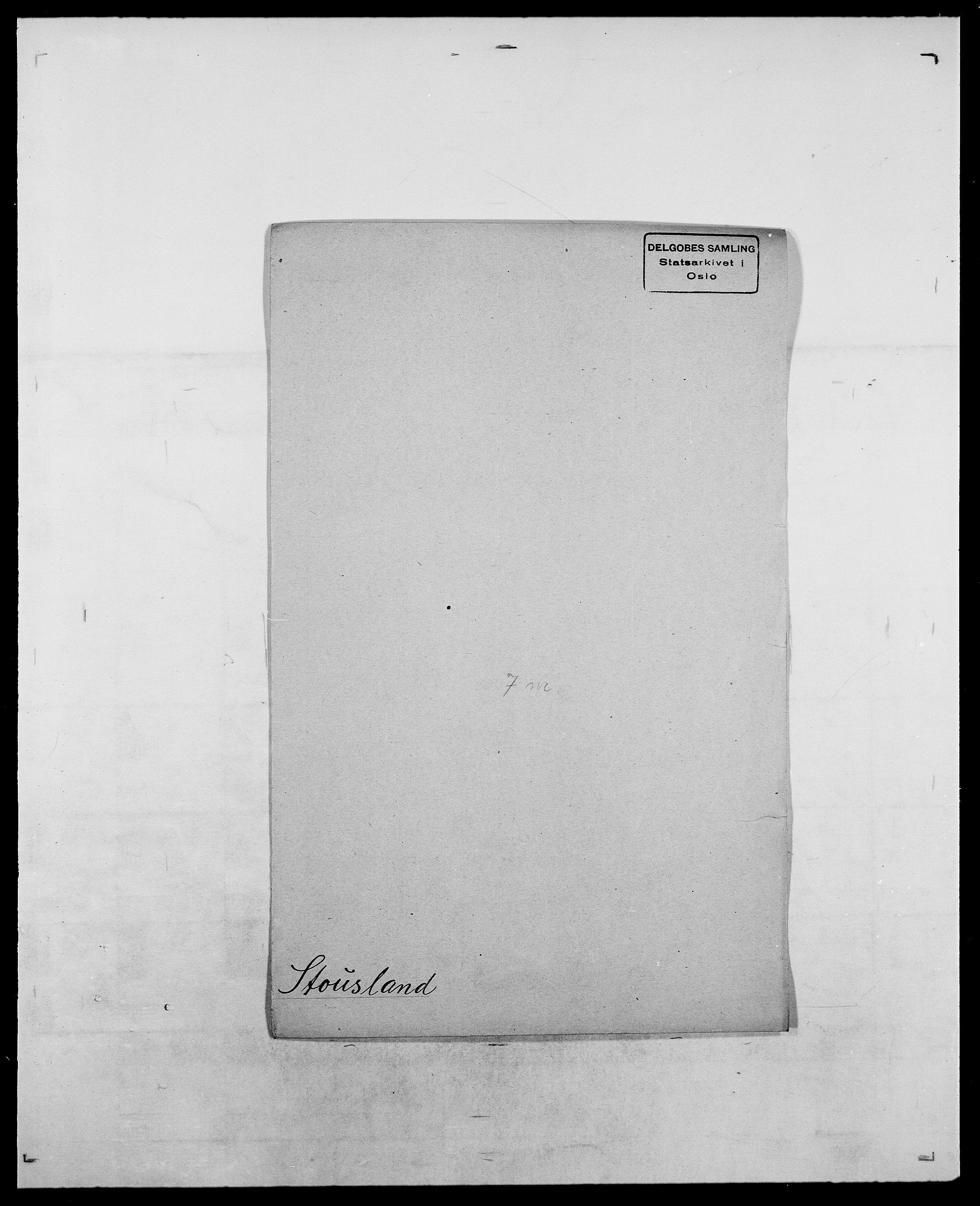 SAO, Delgobe, Charles Antoine - samling, D/Da/L0037: Steen, Sthen, Stein - Svare, Svanige, Svanne, se også Svanning og Schwane, s. 542