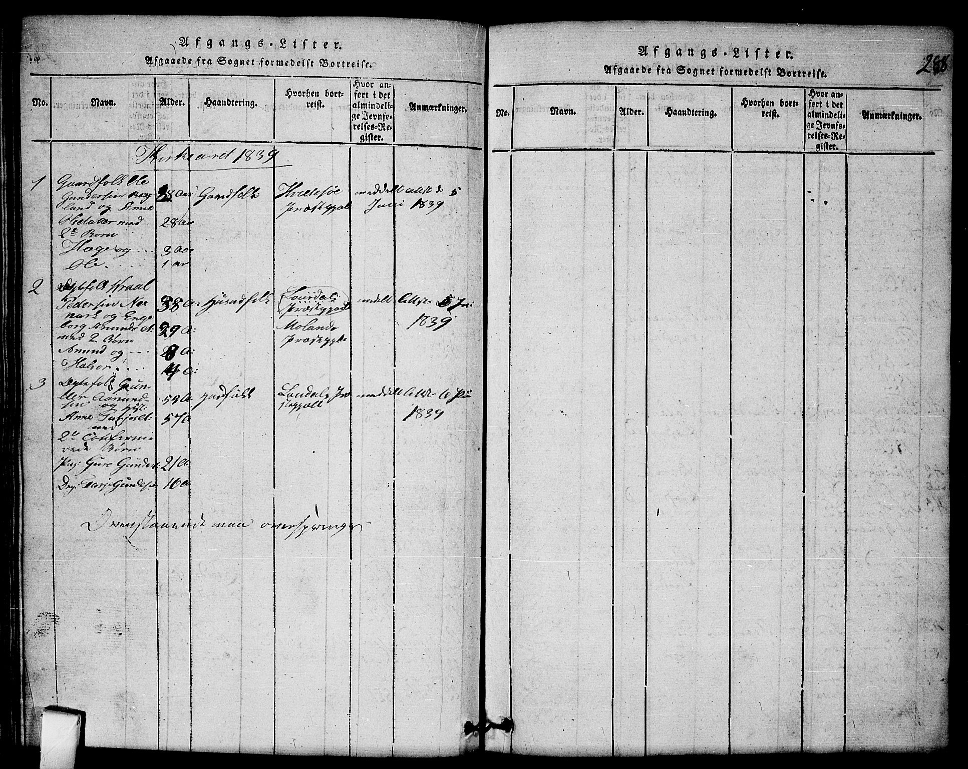 SAKO, Mo kirkebøker, G/Gb/L0001: Klokkerbok nr. II 1, 1814-1843, s. 288