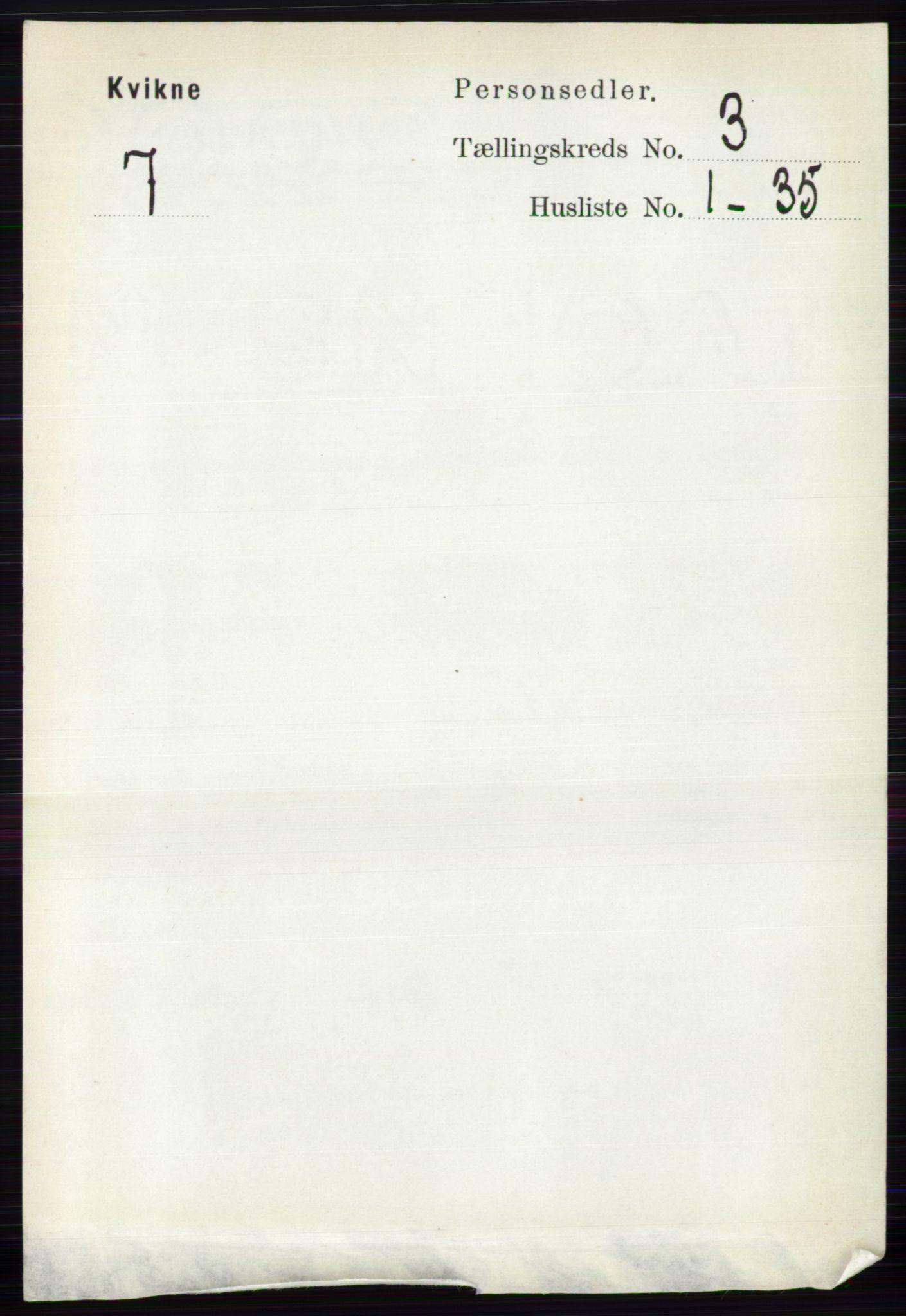 RA, Folketelling 1891 for 0440 Kvikne herred, 1891, s. 680