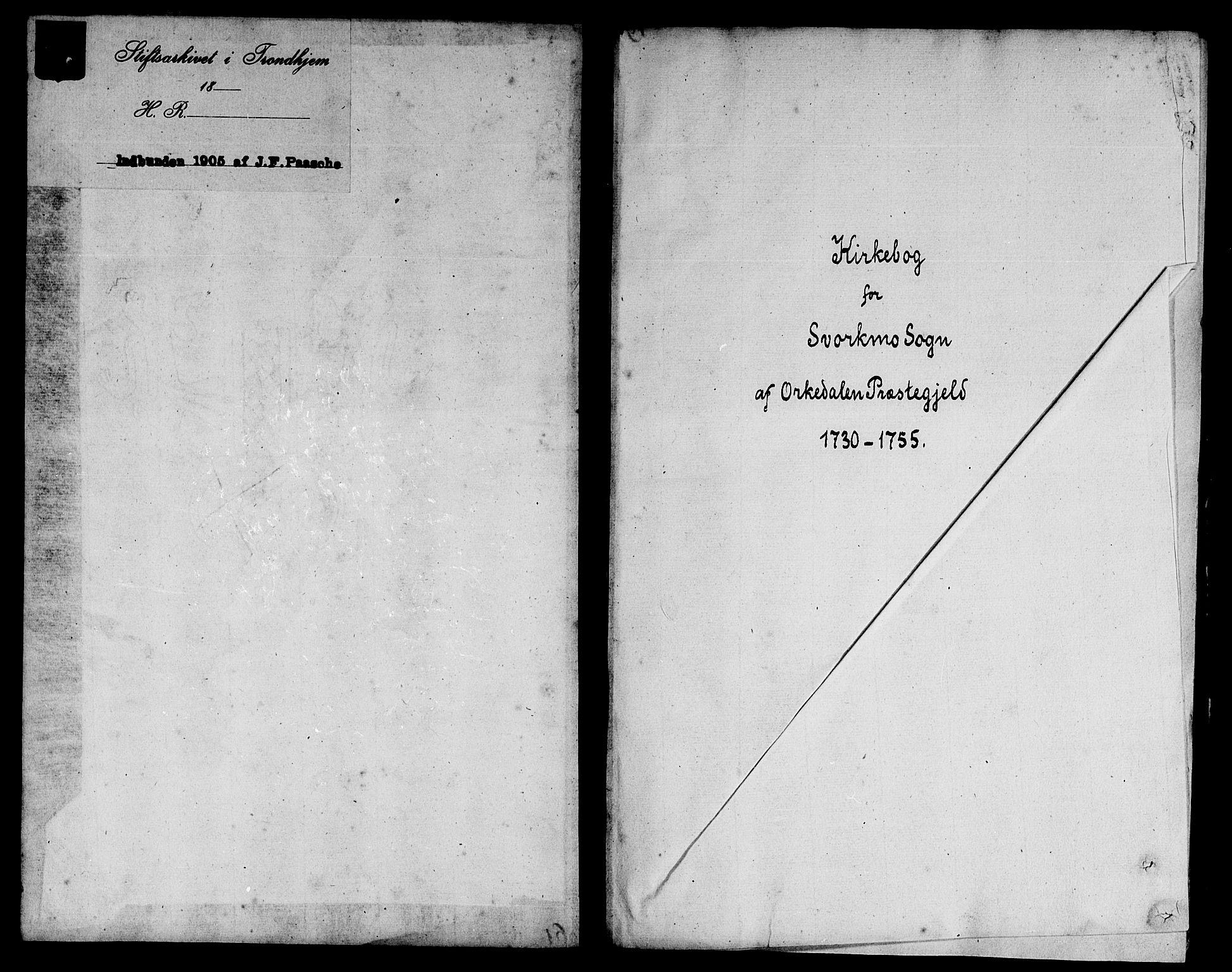 SAT, Ministerialprotokoller, klokkerbøker og fødselsregistre - Sør-Trøndelag, 671/L0839: Ministerialbok nr. 671A01, 1730-1755