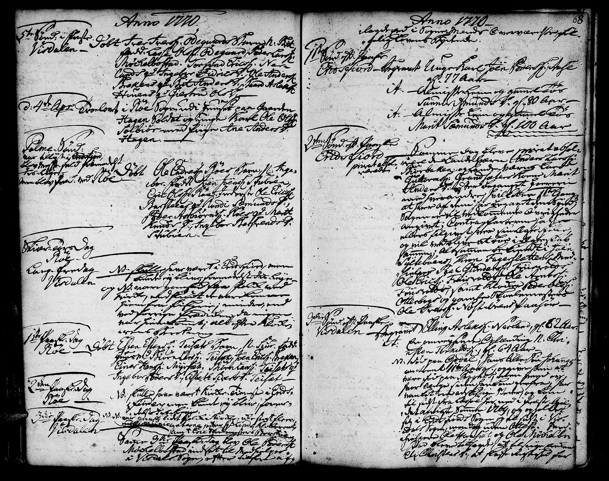 SAT, Ministerialprotokoller, klokkerbøker og fødselsregistre - Møre og Romsdal, 551/L0621: Ministerialbok nr. 551A01, 1757-1803, s. 68