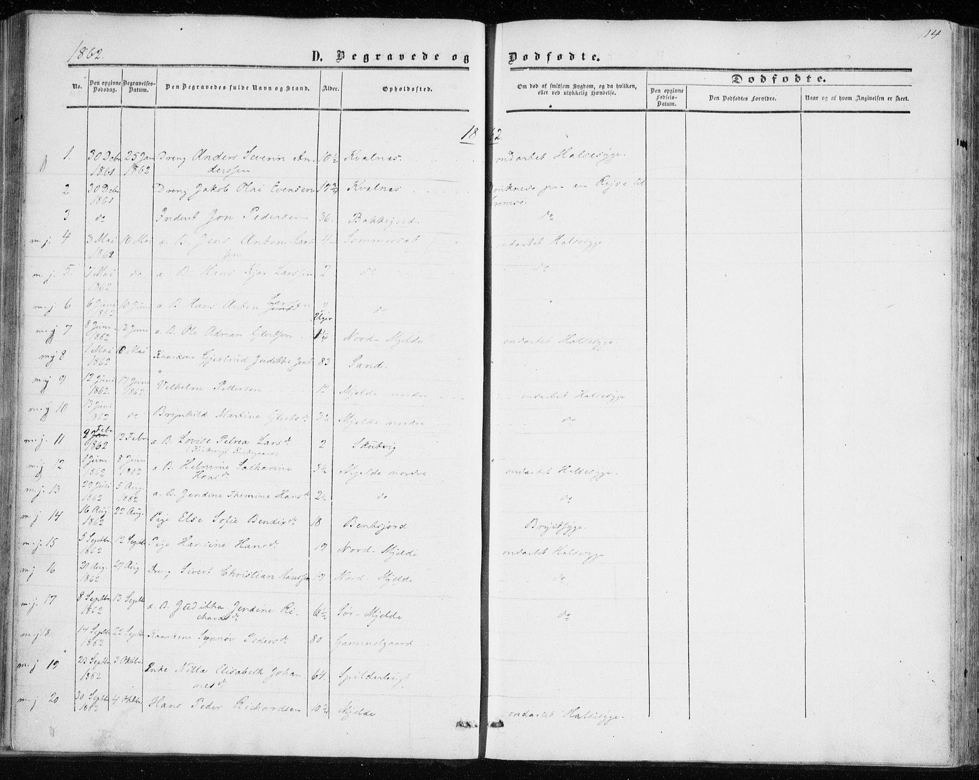 SATØ, Balsfjord sokneprestembete, Ministerialbok nr. 1, 1858-1870, s. 114