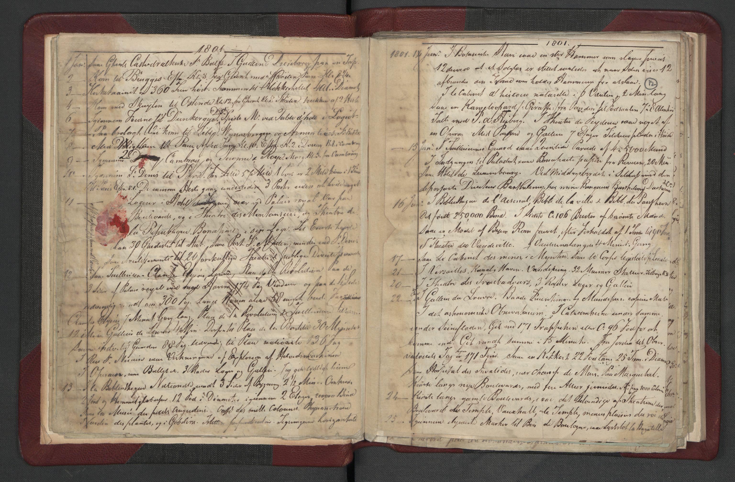RA, Meltzer, Fredrik, F/L0002: Dagbok, 1796-1808, s. 11b-12a