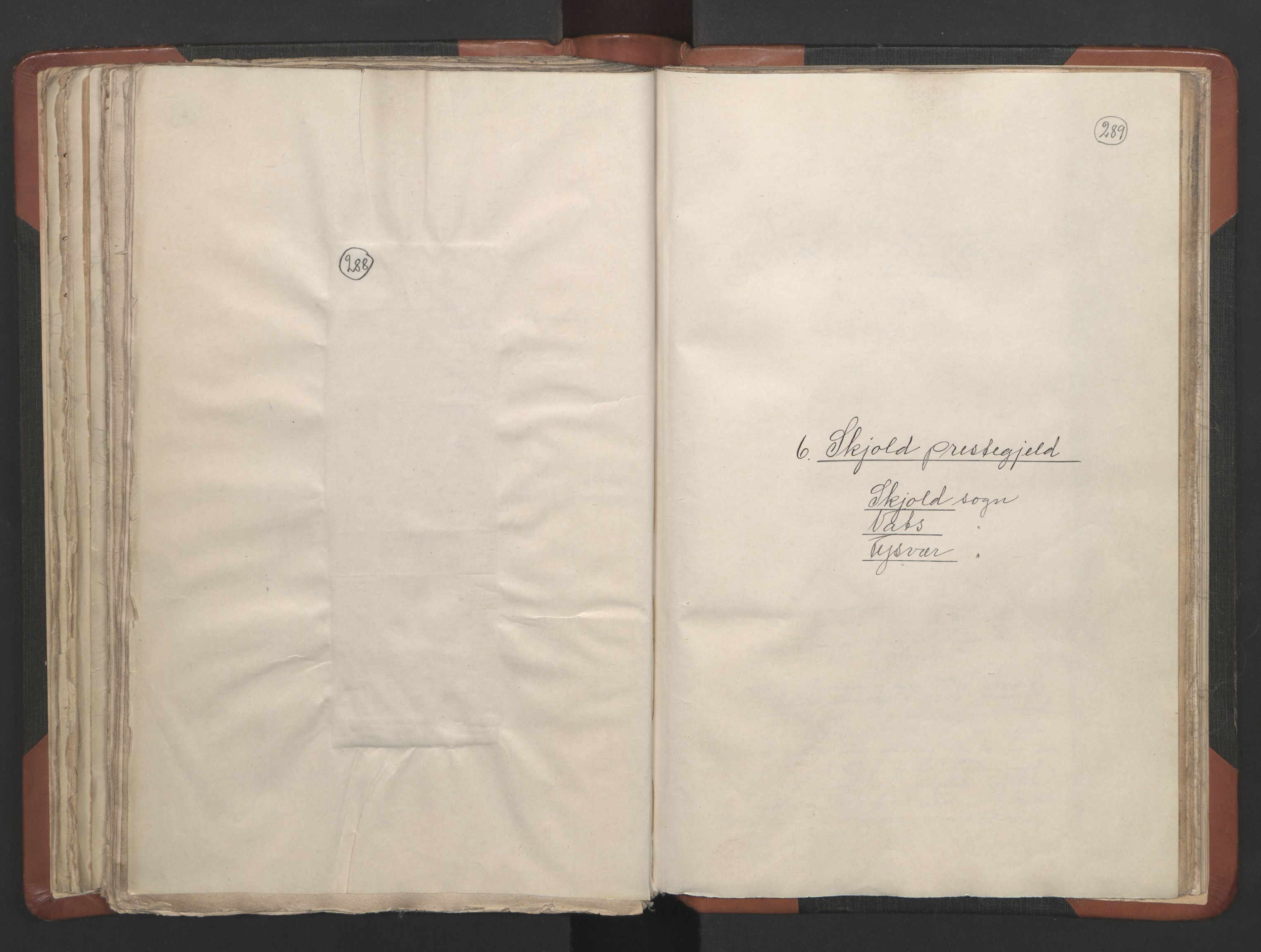 RA, Sogneprestenes manntall 1664-1666, nr. 19: Ryfylke prosti, 1664-1666, s. 288-289