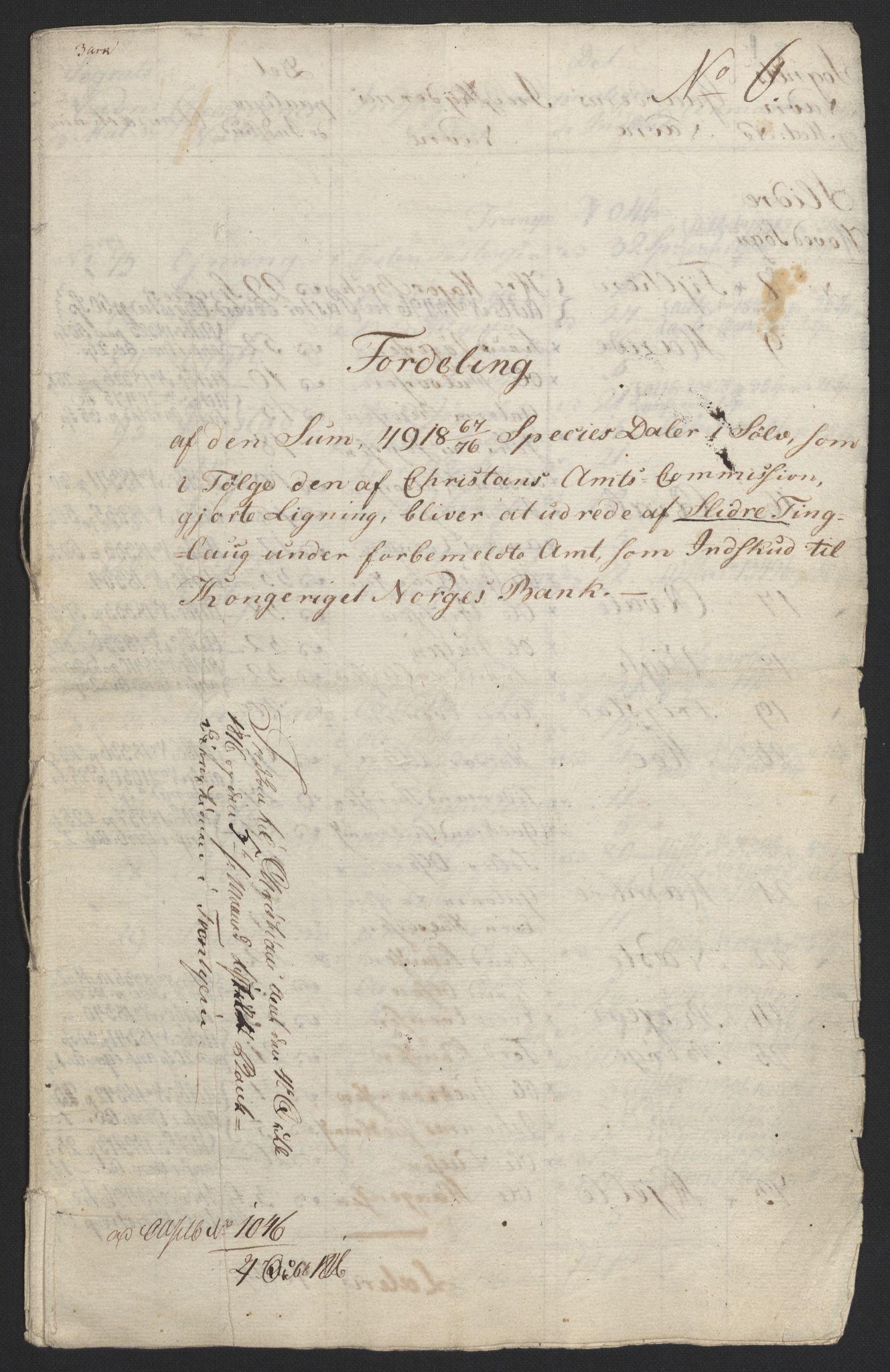 NOBA, Norges Bank/Sølvskatten 1816*, 1816, s. 57