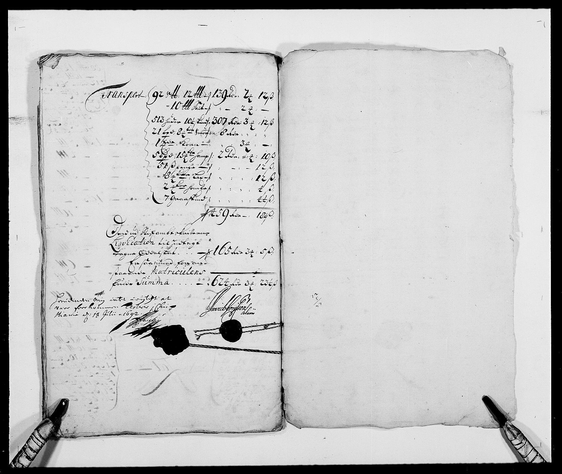 RA, Rentekammeret inntil 1814, Reviderte regnskaper, Fogderegnskap, R24/L1573: Fogderegnskap Numedal og Sandsvær, 1687-1691, s. 510