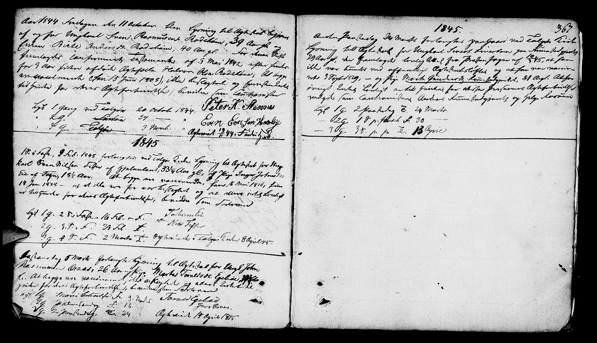 SAST, Finnøy sokneprestkontor, H/Ha/Haa/L0005: Ministerialbok nr. A 5, 1773-1816, s. 367