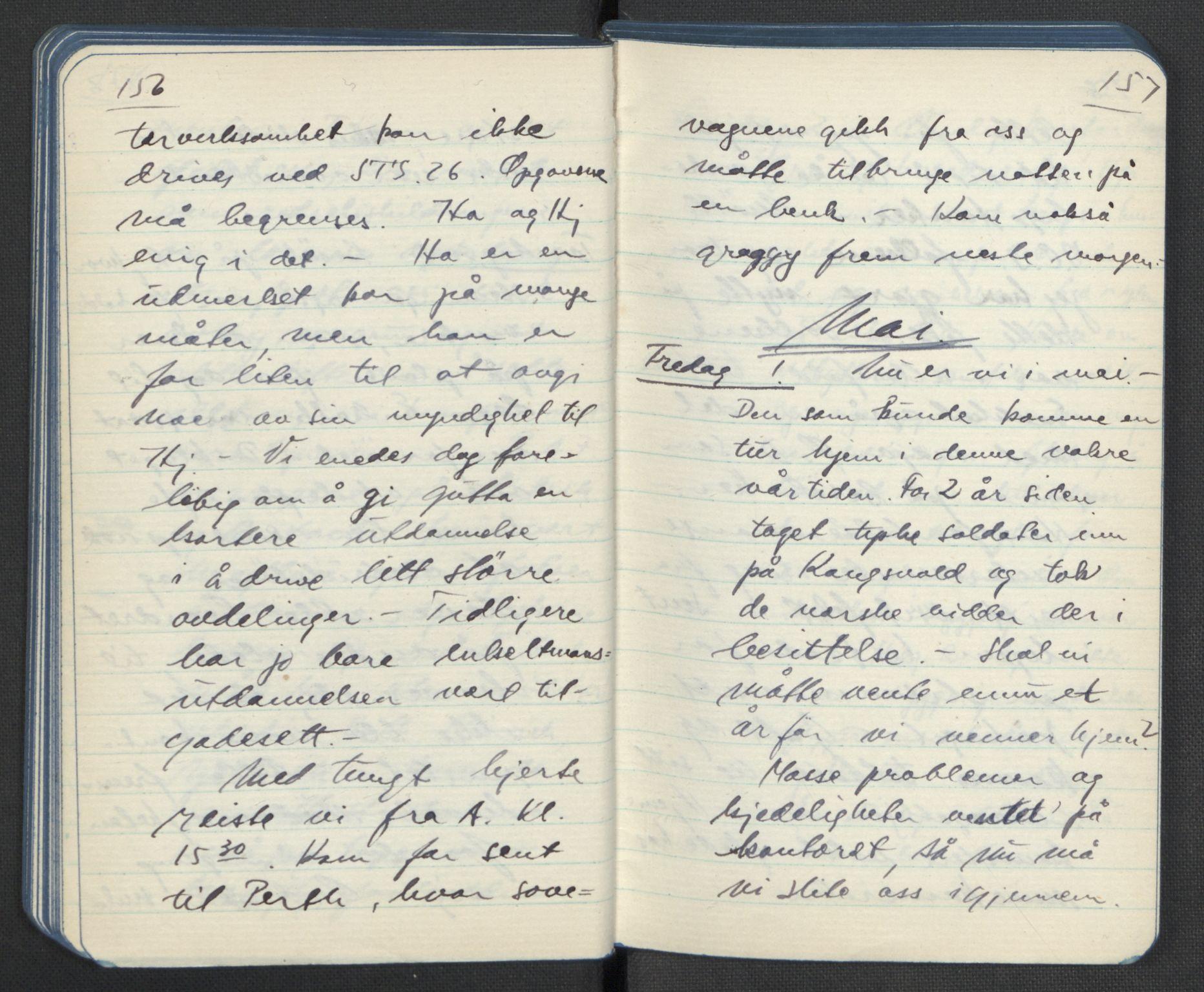 RA, Tronstad, Leif, F/L0001: Dagbøker, 1941-1945, s. 162