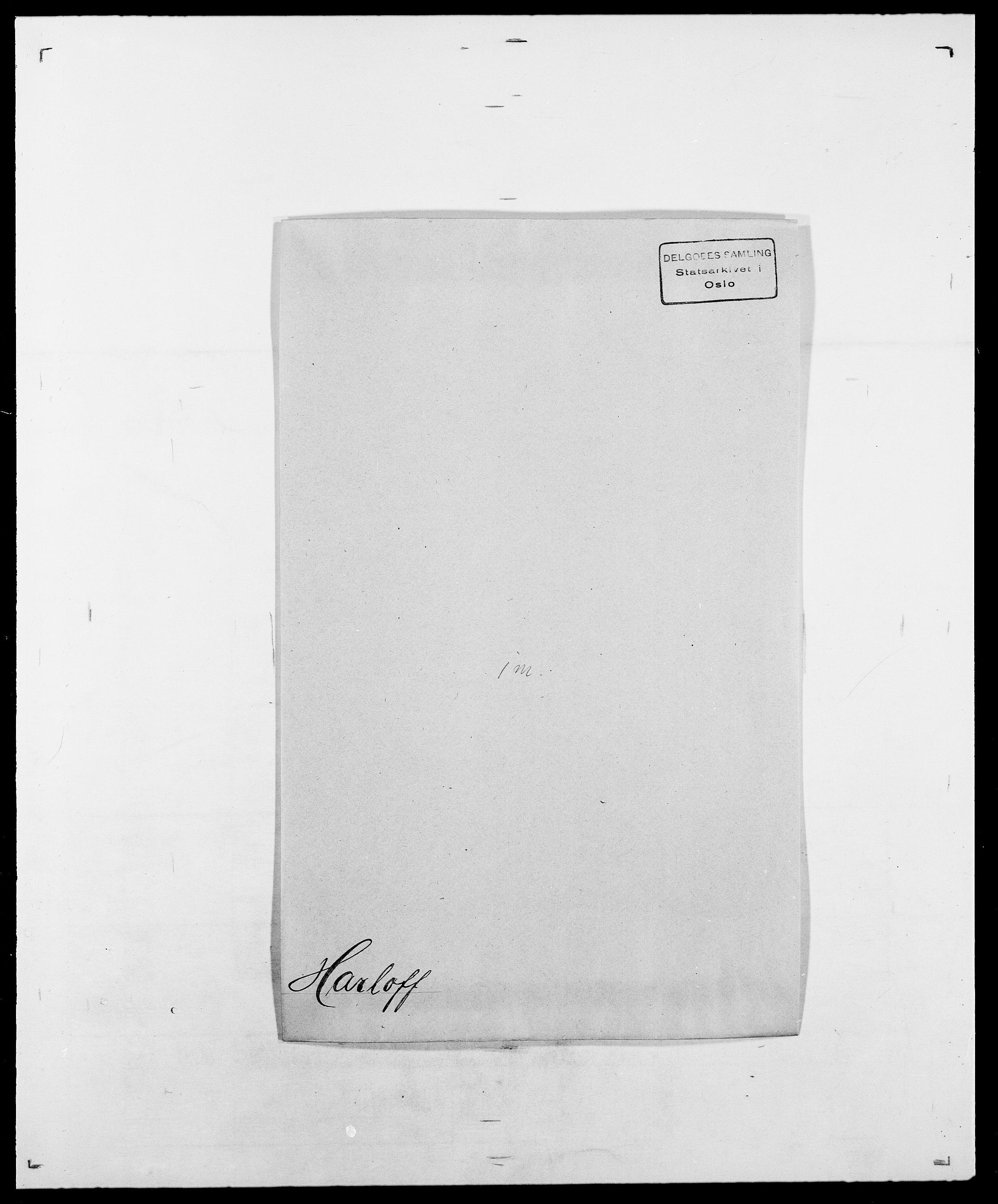 SAO, Delgobe, Charles Antoine - samling, D/Da/L0016: Hamborg - Hektoen, s. 430