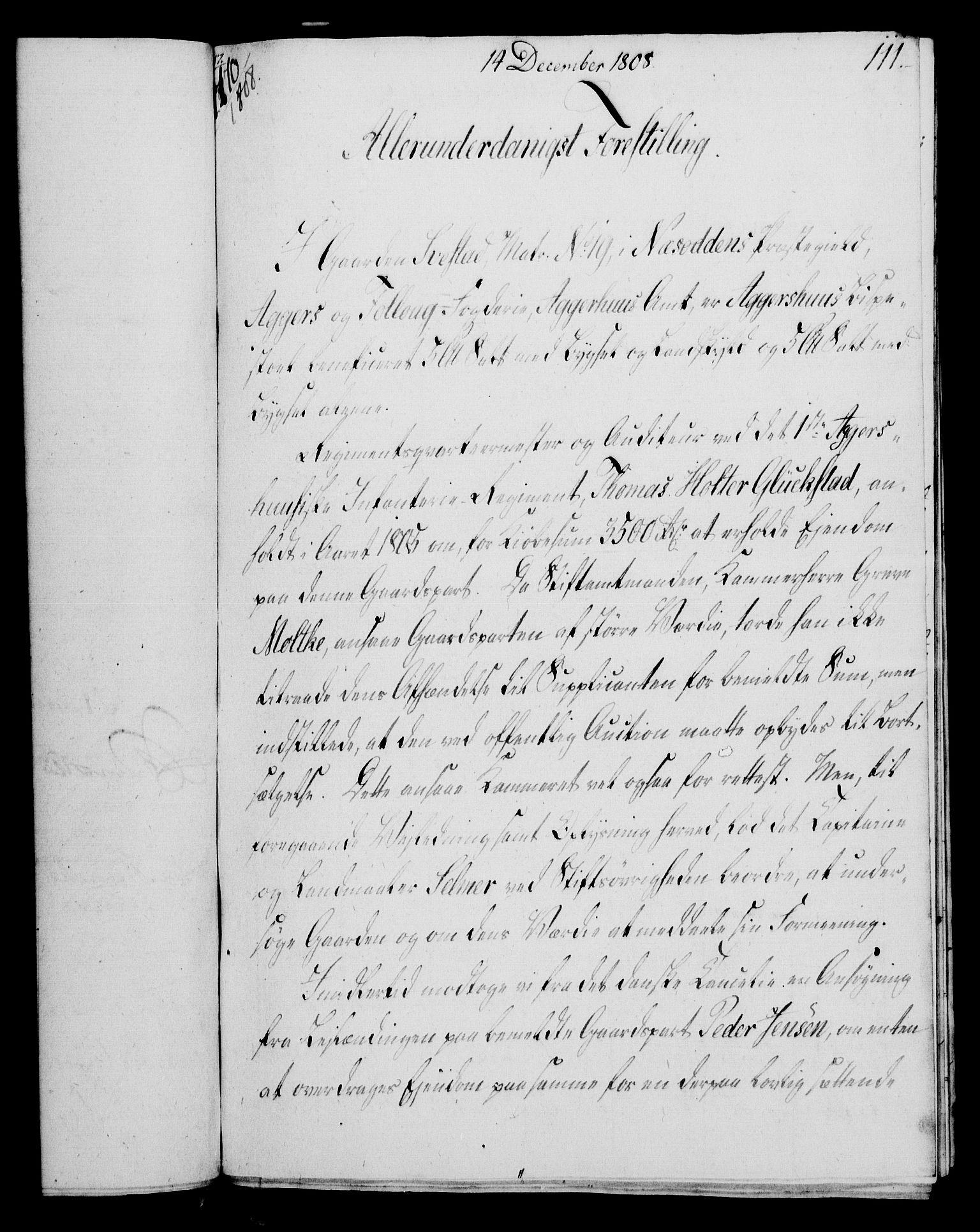 RA, Rentekammeret, Kammerkanselliet, G/Gf/Gfa/L0090: Norsk relasjons- og resolusjonsprotokoll (merket RK 52.90), 1808, s. 531