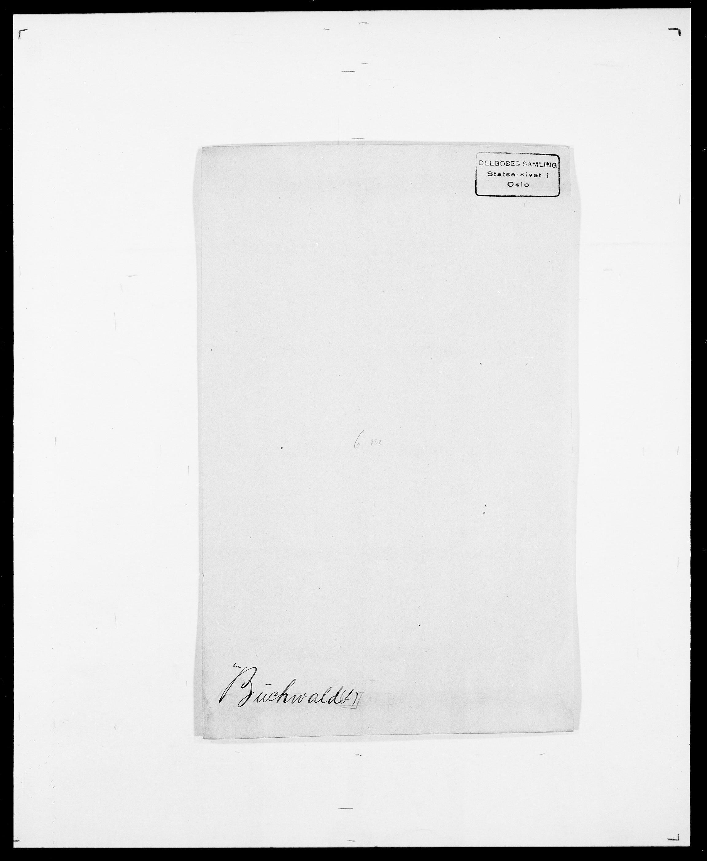 SAO, Delgobe, Charles Antoine - samling, D/Da/L0007: Buaas - Caphengst, s. 109