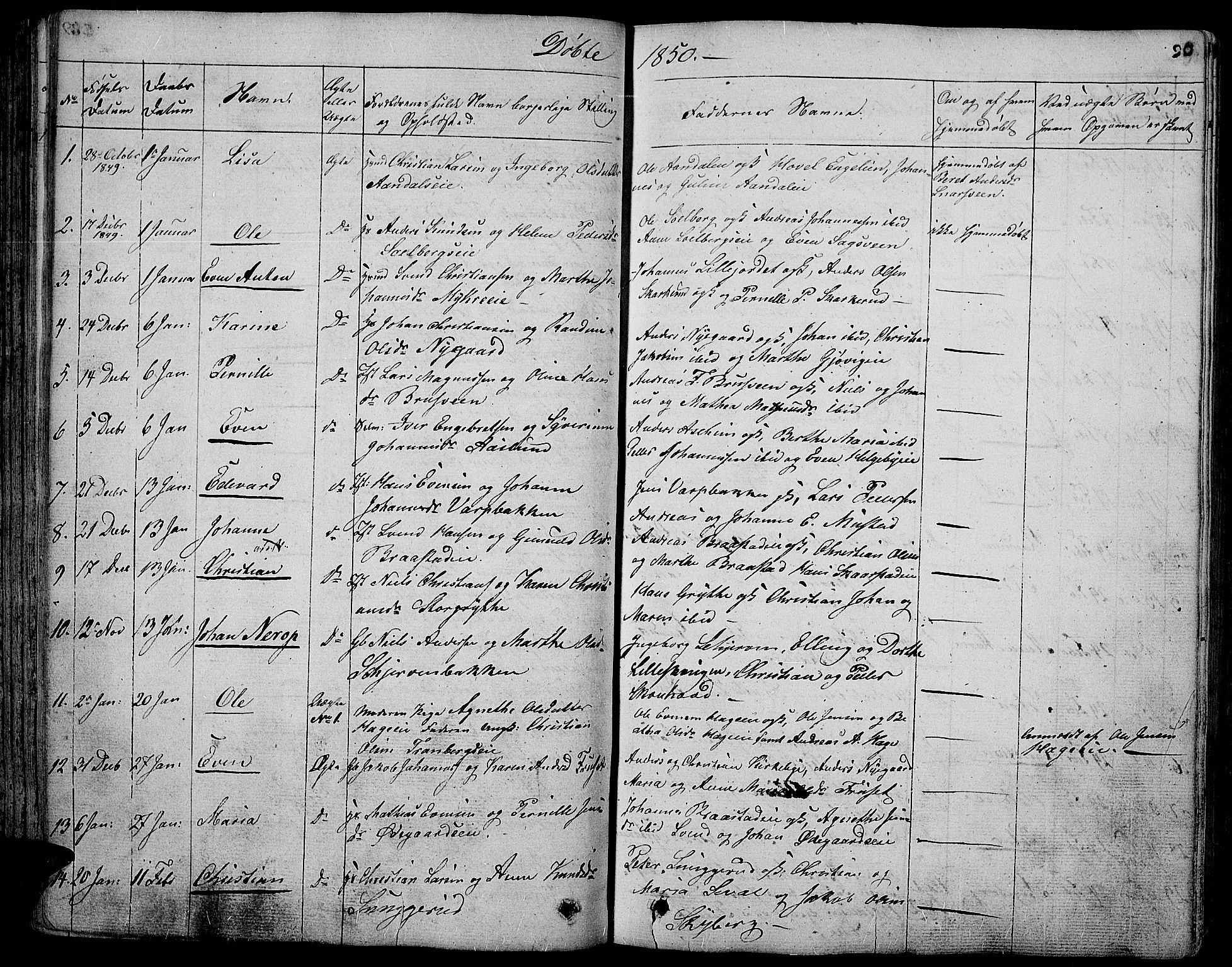 SAH, Vardal prestekontor, H/Ha/Hab/L0004: Klokkerbok nr. 4, 1831-1853, s. 90