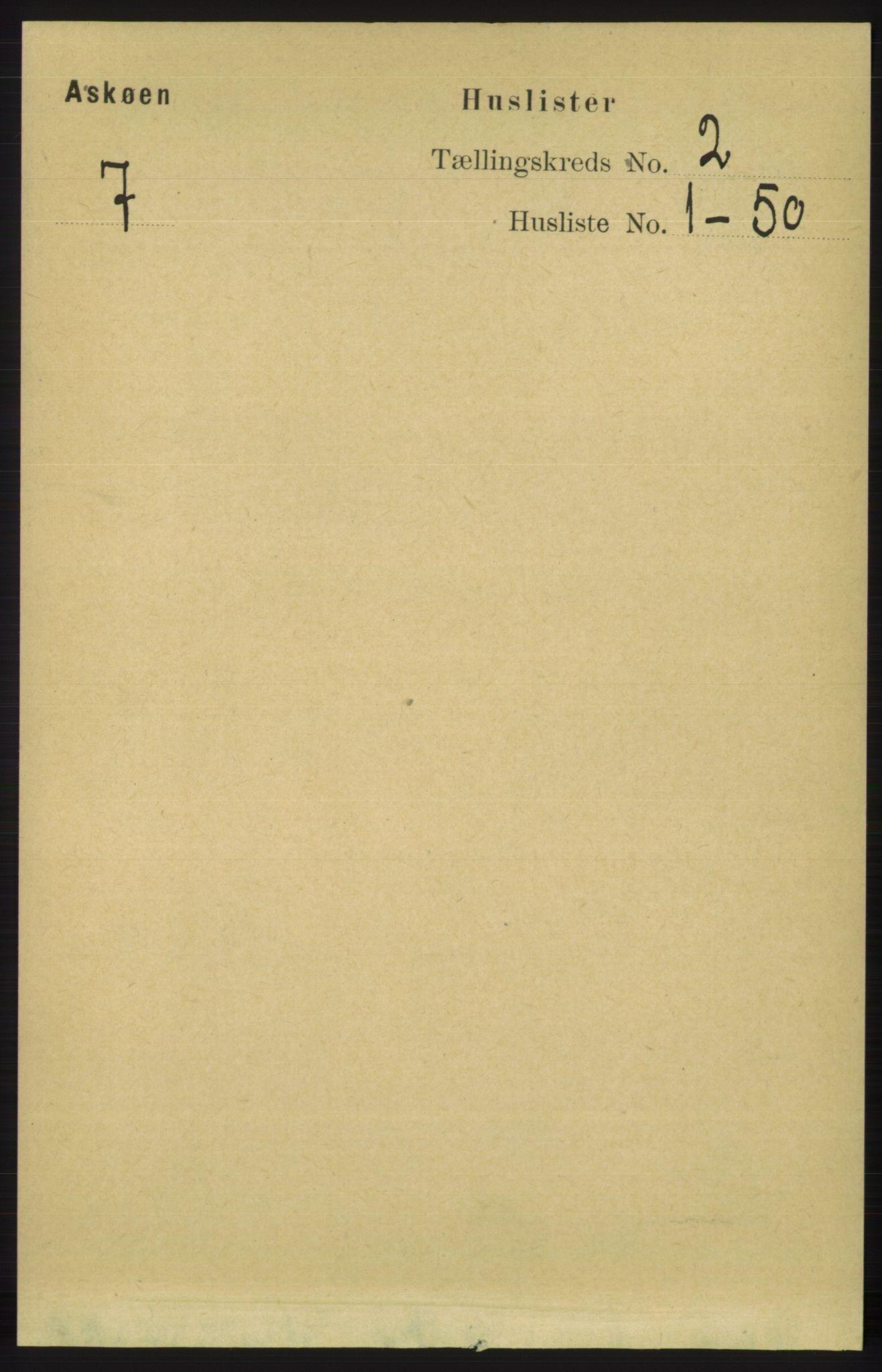 RA, Folketelling 1891 for 1247 Askøy herred, 1891, s. 1032