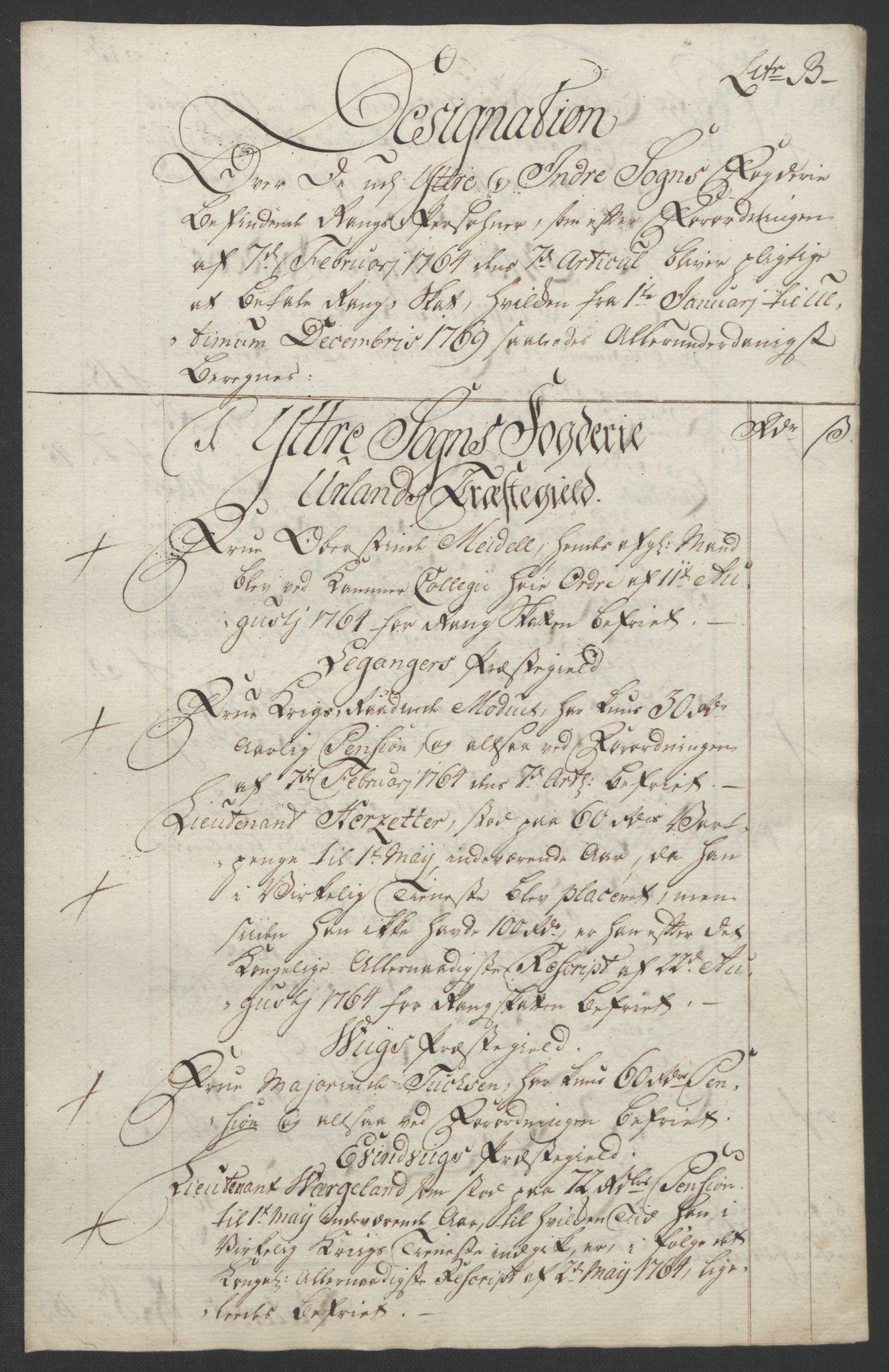 RA, Rentekammeret inntil 1814, Realistisk ordnet avdeling, Ol/L0018: [Gg 10]: Ekstraskatten, 23.09.1762. Sogn, 1762-1772, s. 239