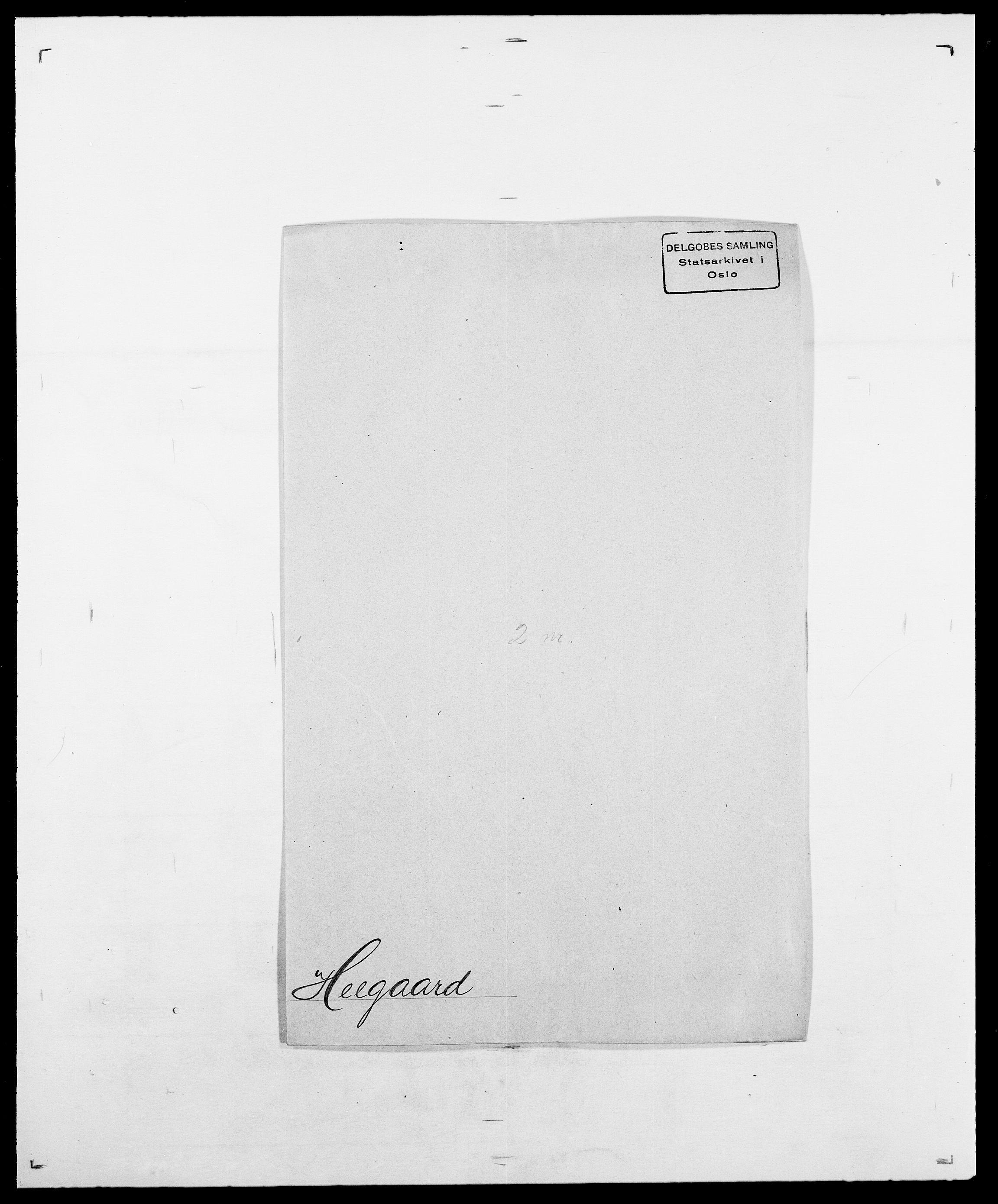 SAO, Delgobe, Charles Antoine - samling, D/Da/L0016: Hamborg - Hektoen, s. 686