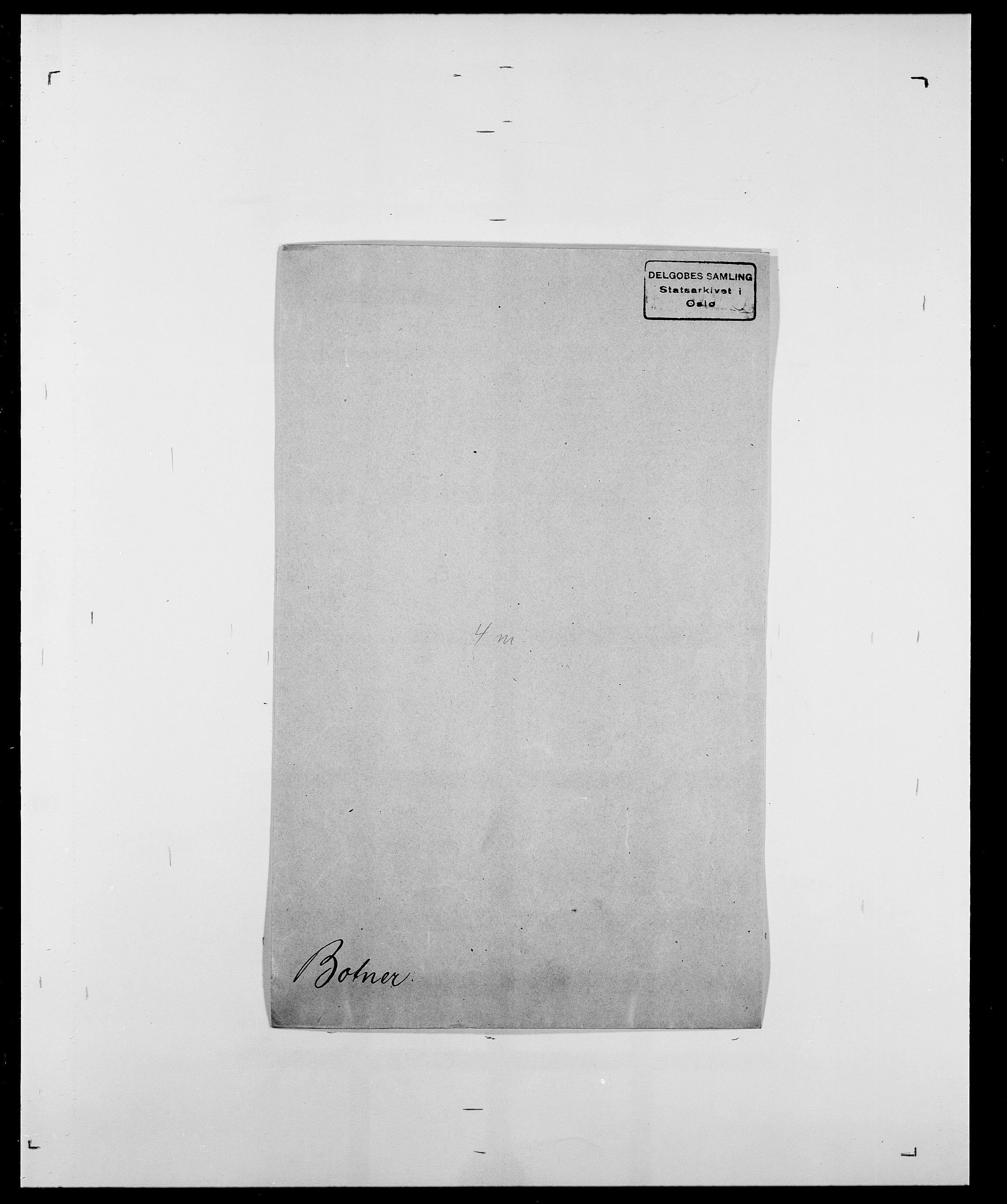 SAO, Delgobe, Charles Antoine - samling, D/Da/L0005: Boalth - Brahm, s. 340