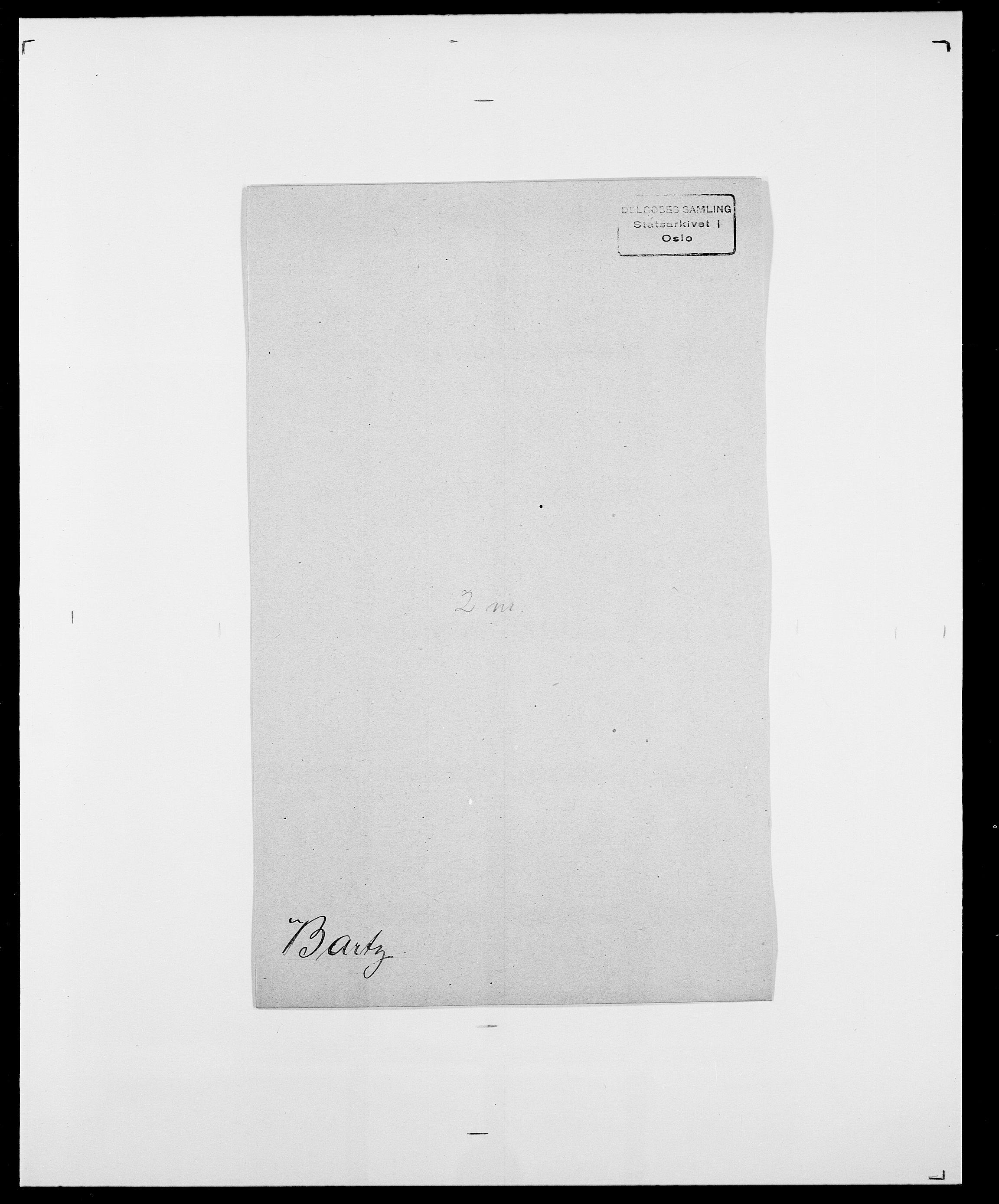 SAO, Delgobe, Charles Antoine - samling, D/Da/L0003: Barca - Bergen, s. 403
