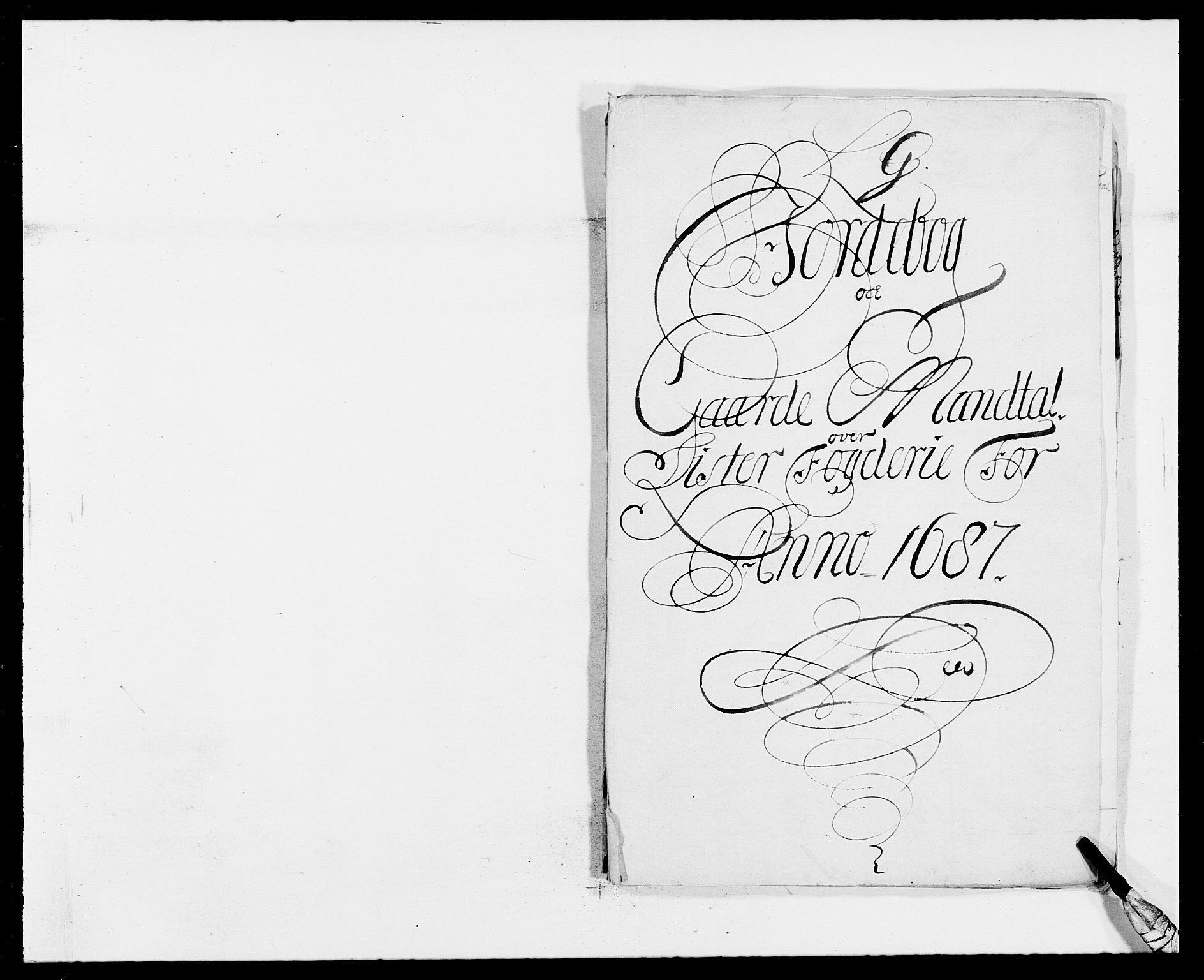 RA, Rentekammeret inntil 1814, Reviderte regnskaper, Fogderegnskap, R41/L2534: Fogderegnskap Lista, 1686-1688, s. 103