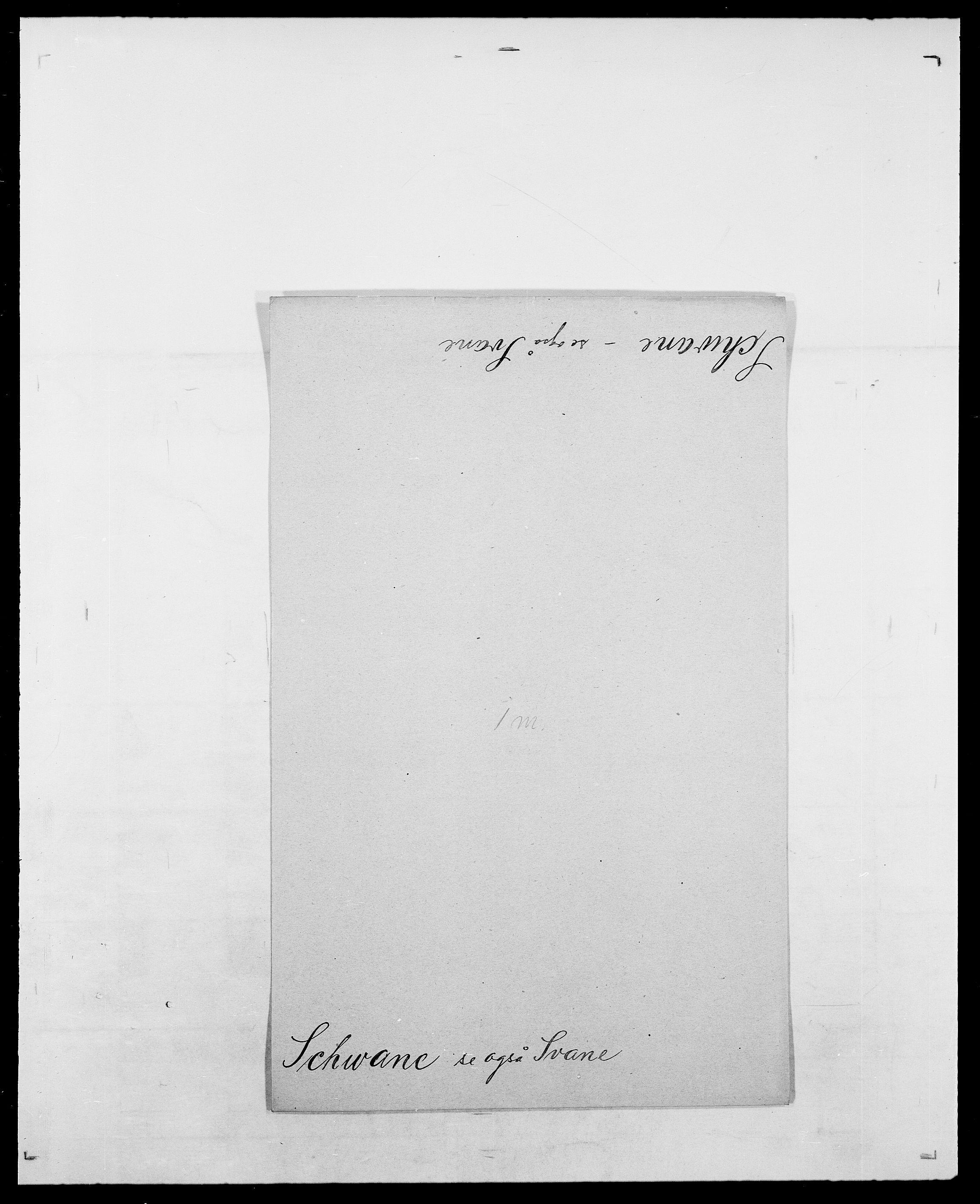 SAO, Delgobe, Charles Antoine - samling, D/Da/L0035: Schnabel - sjetman, s. 371