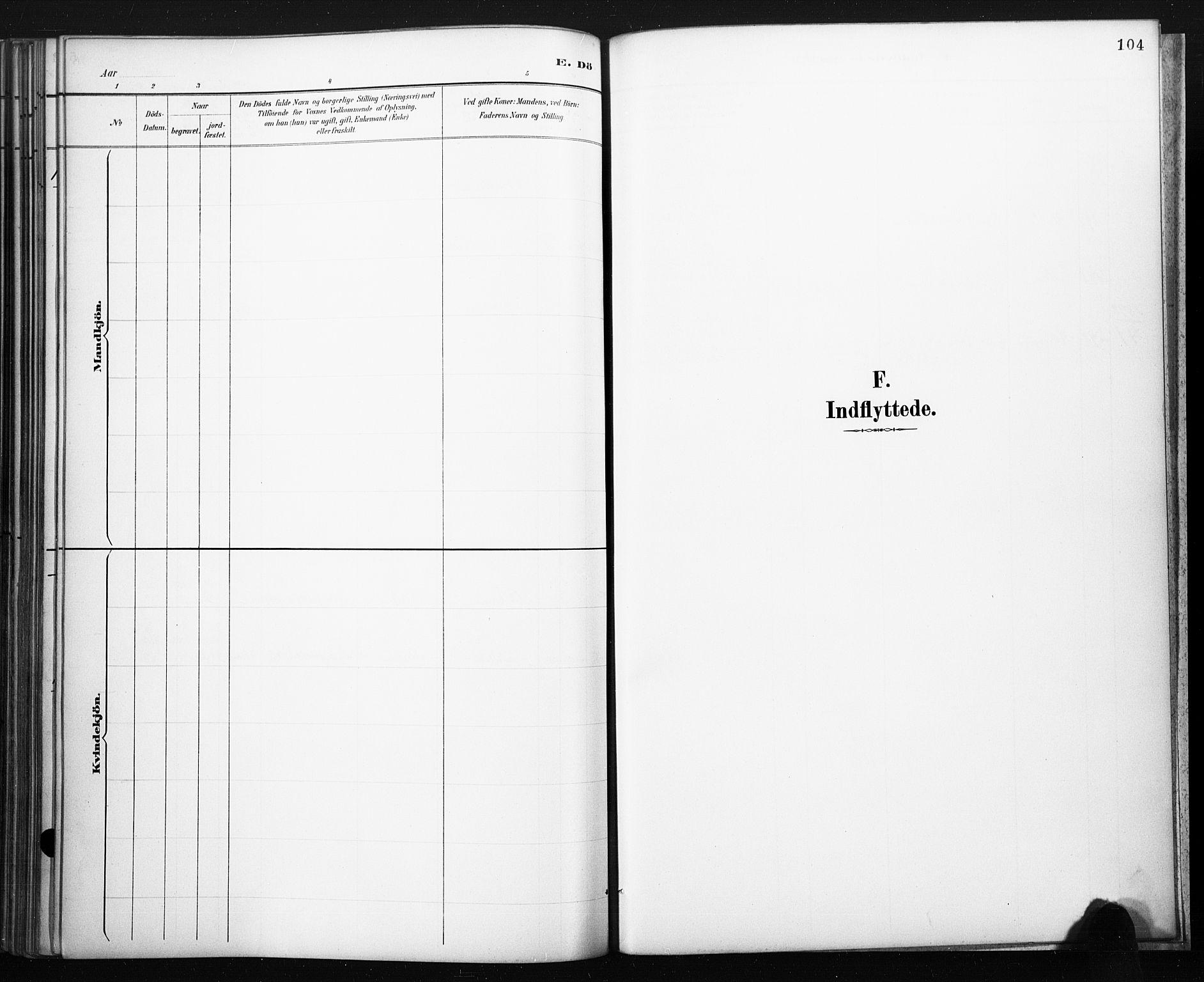 SAKO, Lårdal kirkebøker, F/Fb/L0002: Ministerialbok nr. II 2, 1887-1918, s. 104