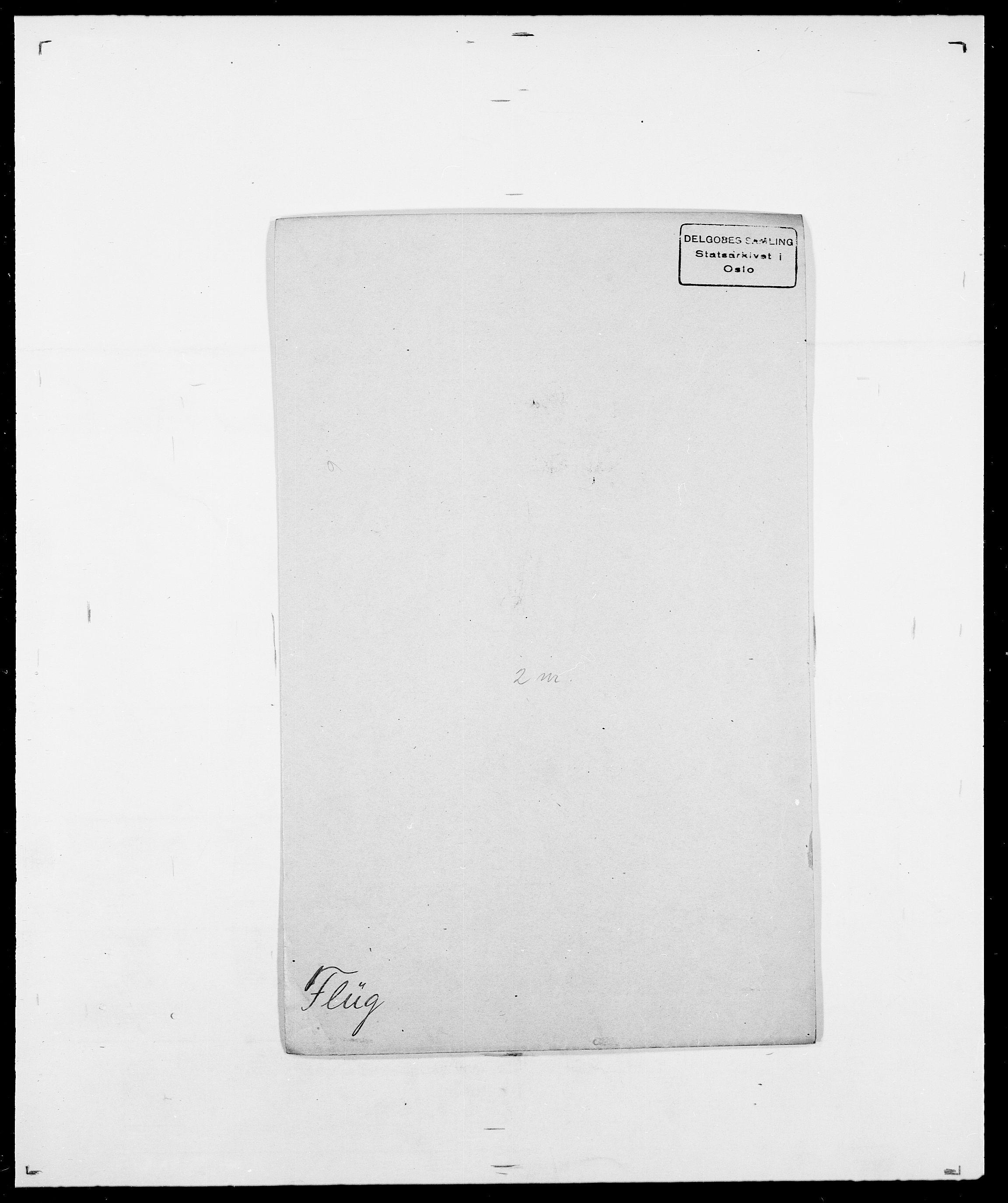 SAO, Delgobe, Charles Antoine - samling, D/Da/L0012: Flor, Floer, Flohr - Fritzner, s. 489