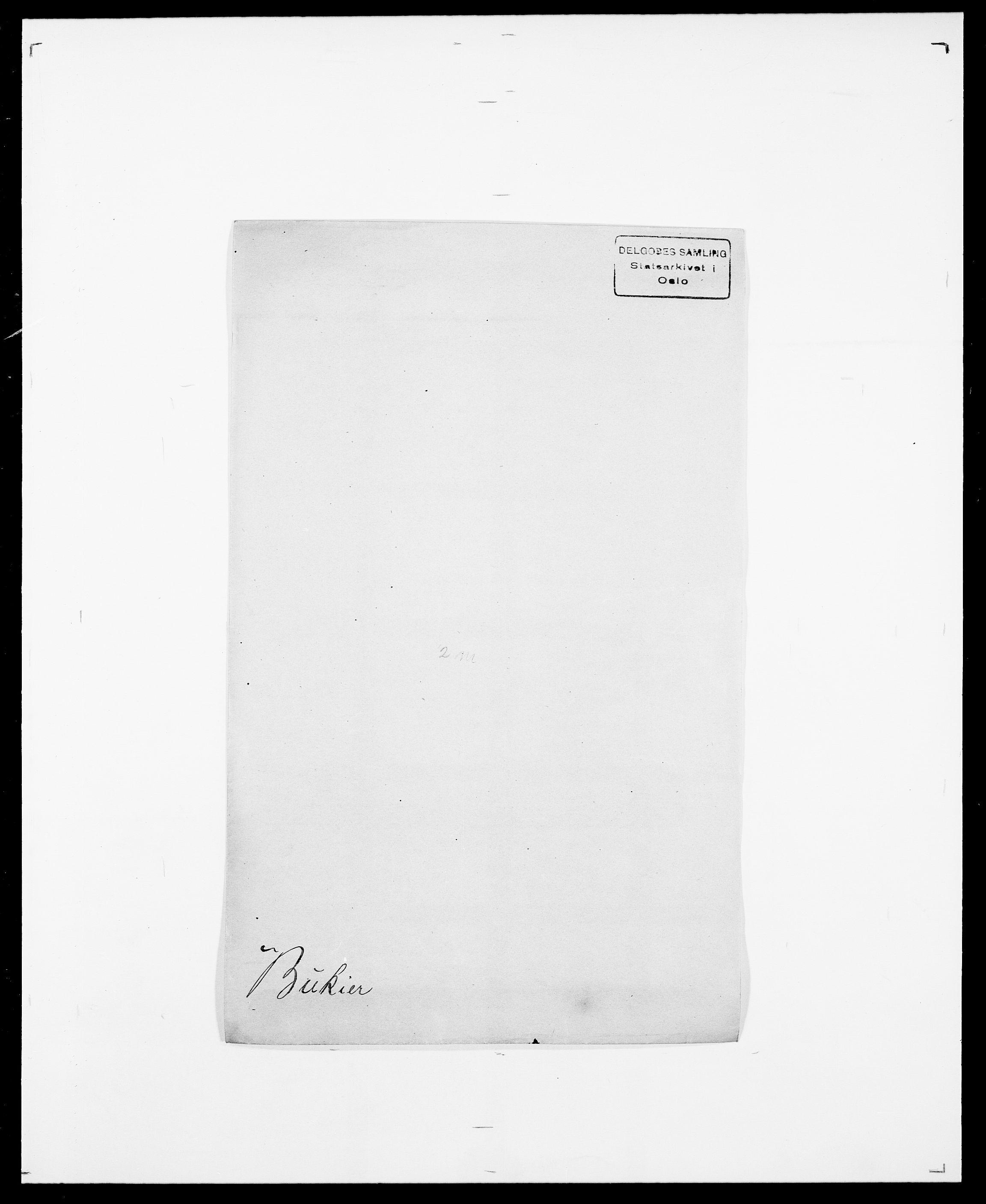 SAO, Delgobe, Charles Antoine - samling, D/Da/L0007: Buaas - Caphengst, s. 255