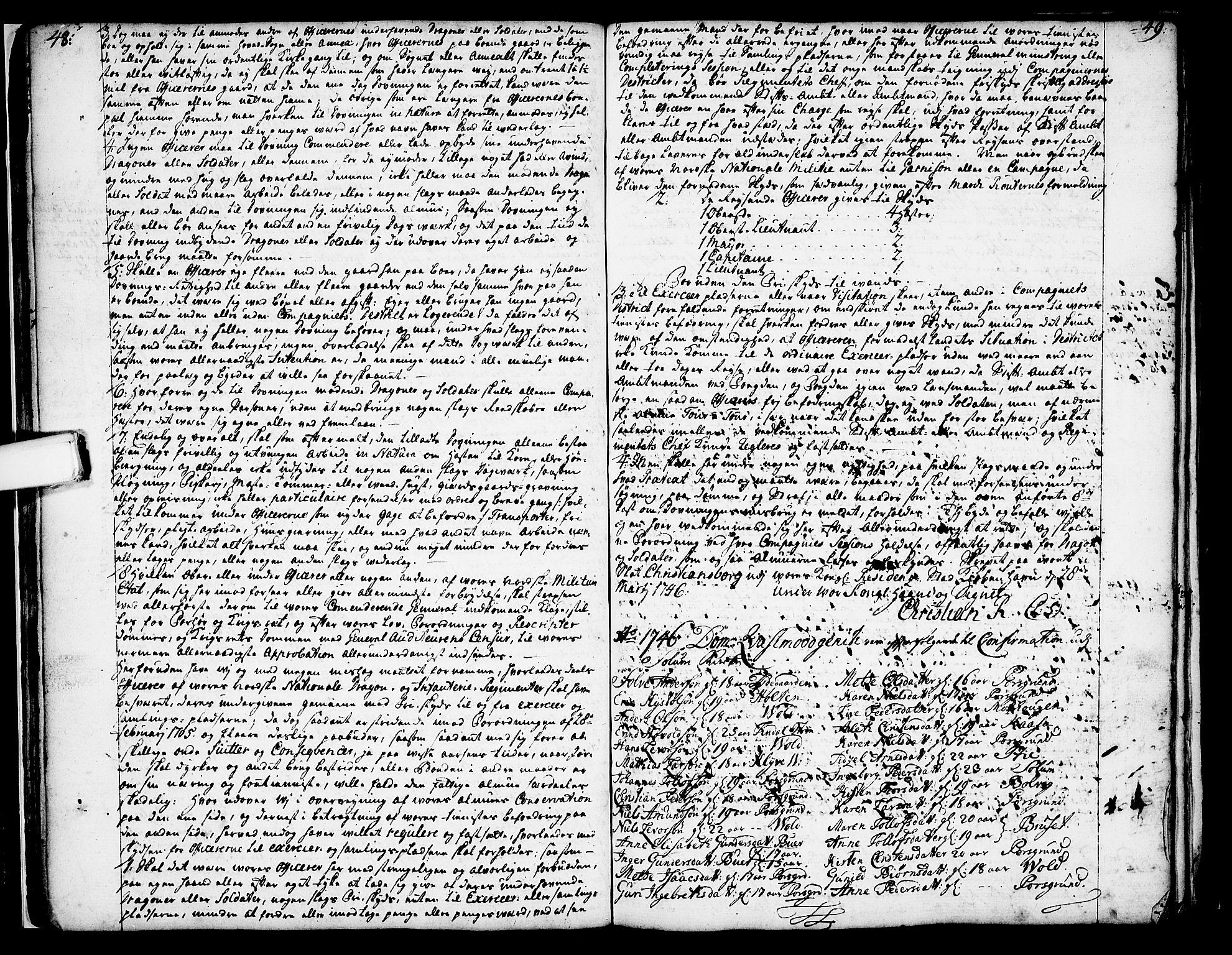 SAKO, Solum kirkebøker, Annen kirkebok nr. ?, 1743-1791, s. 48-49