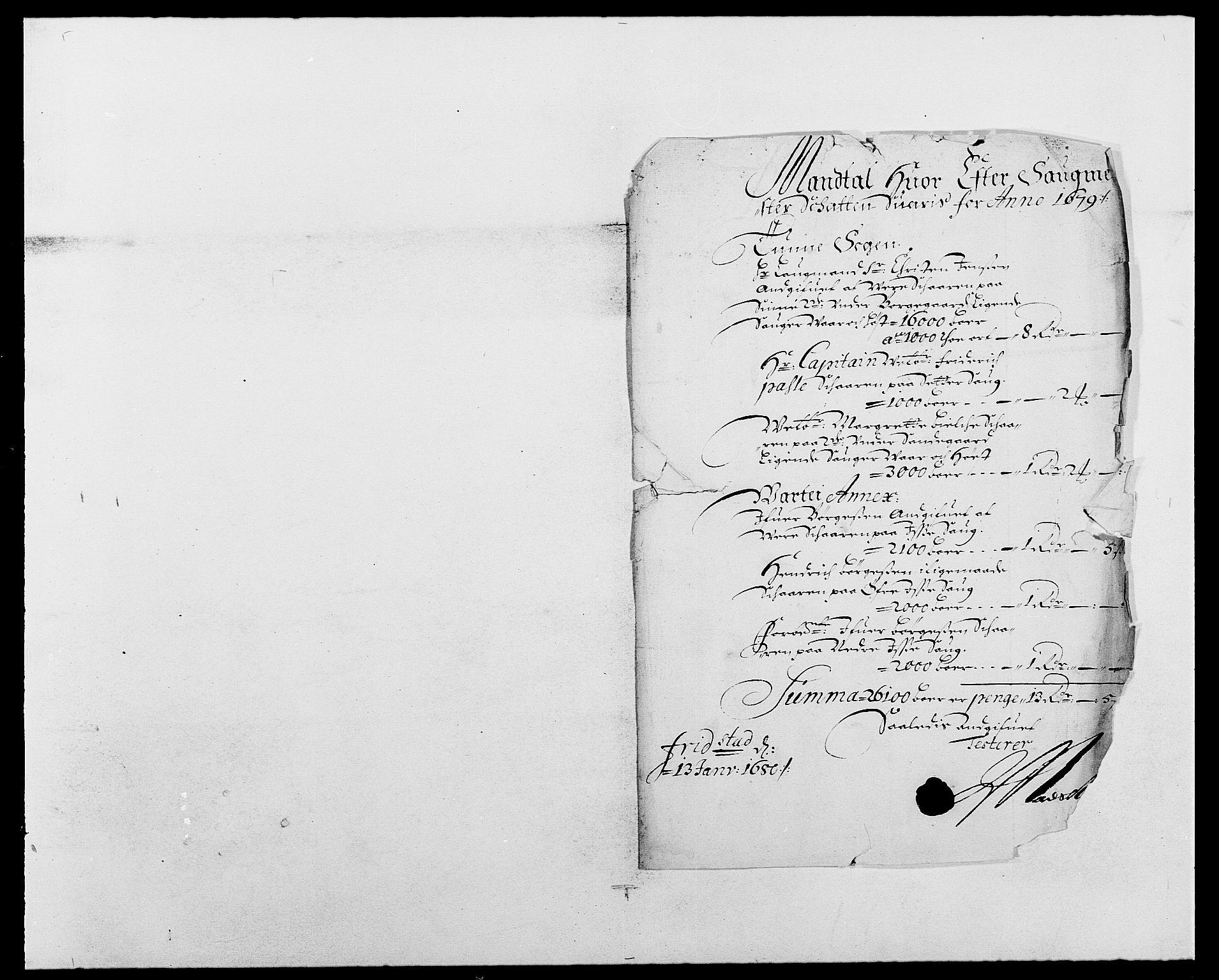 RA, Rentekammeret inntil 1814, Reviderte regnskaper, Fogderegnskap, R03/L0110: Fogderegnskap Onsøy, Tune, Veme og Åbygge fogderi, 1678-1679, s. 250