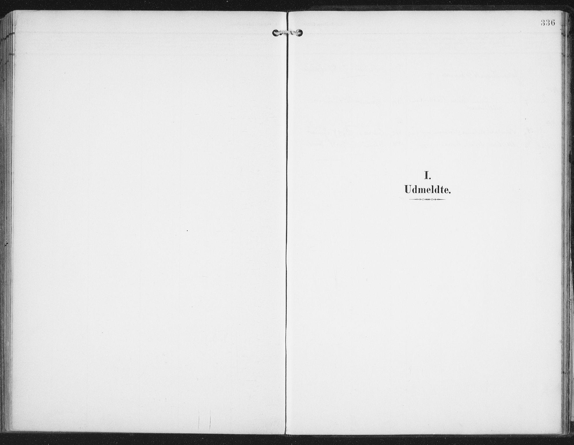 SAT, Ministerialprotokoller, klokkerbøker og fødselsregistre - Nordland, 876/L1098: Ministerialbok nr. 876A04, 1896-1915, s. 336