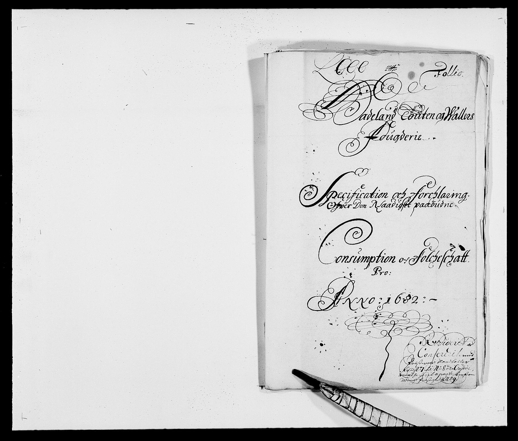 RA, Rentekammeret inntil 1814, Reviderte regnskaper, Fogderegnskap, R18/L1281: Fogderegnskap Hadeland, Toten og Valdres, 1682, s. 98