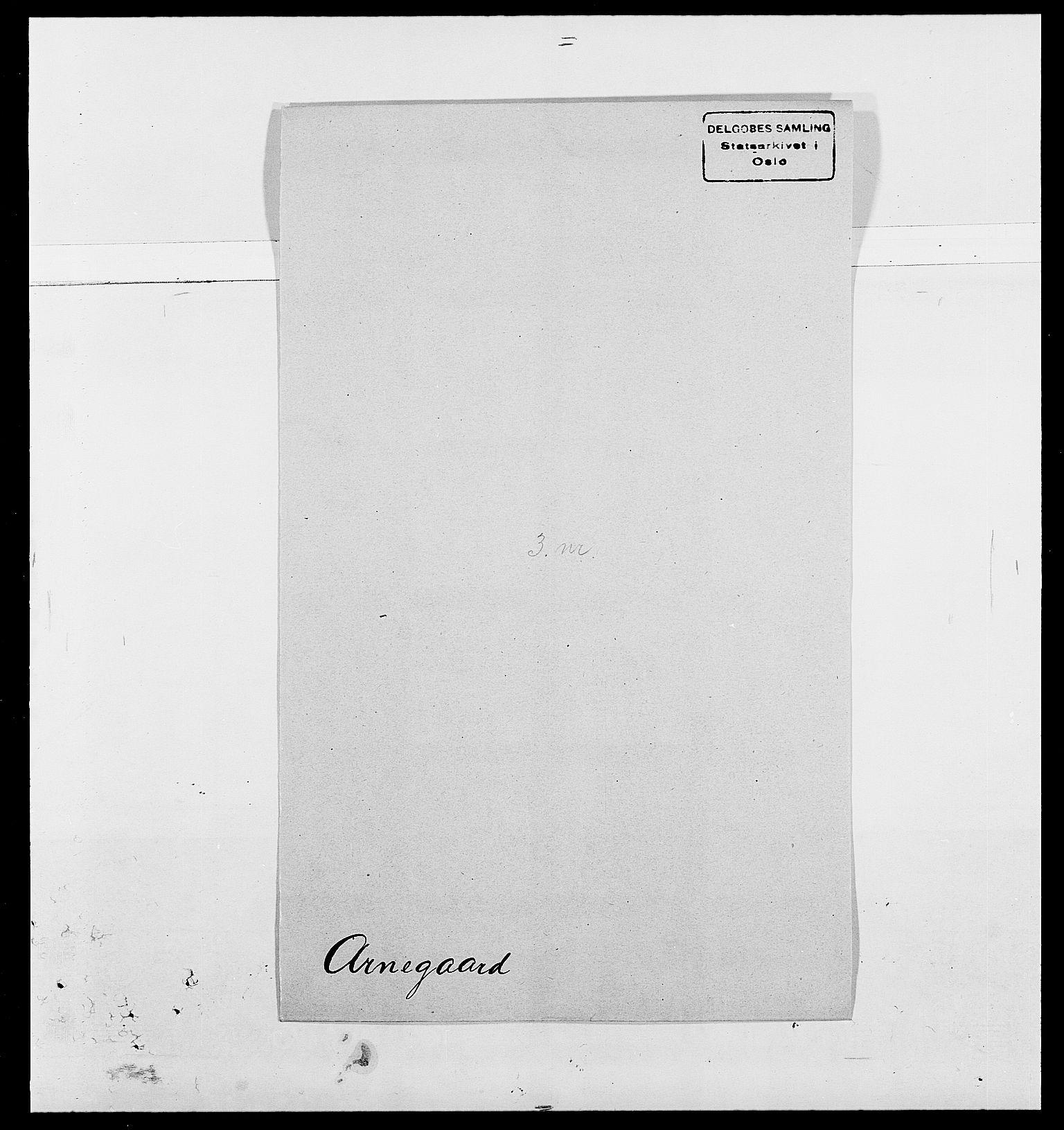 SAO, Delgobe, Charles Antoine - samling, D/Da/L0002: Anker, Ancher - Bauner, s. 324