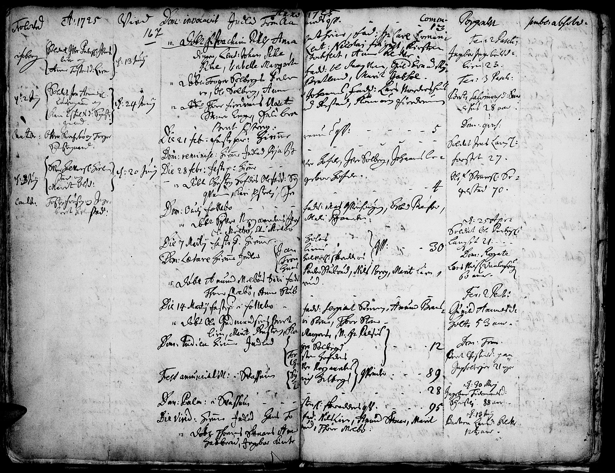SAH, Gausdal prestekontor, Ministerialbok nr. 1, 1693-1728, s. 167