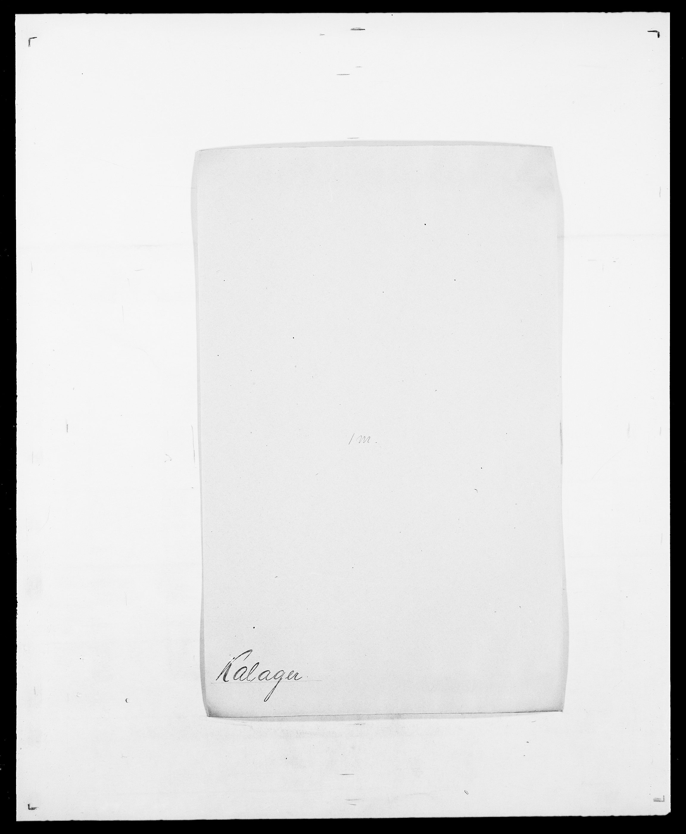 SAO, Delgobe, Charles Antoine - samling, D/Da/L0020: Irgens - Kjøsterud, s. 425