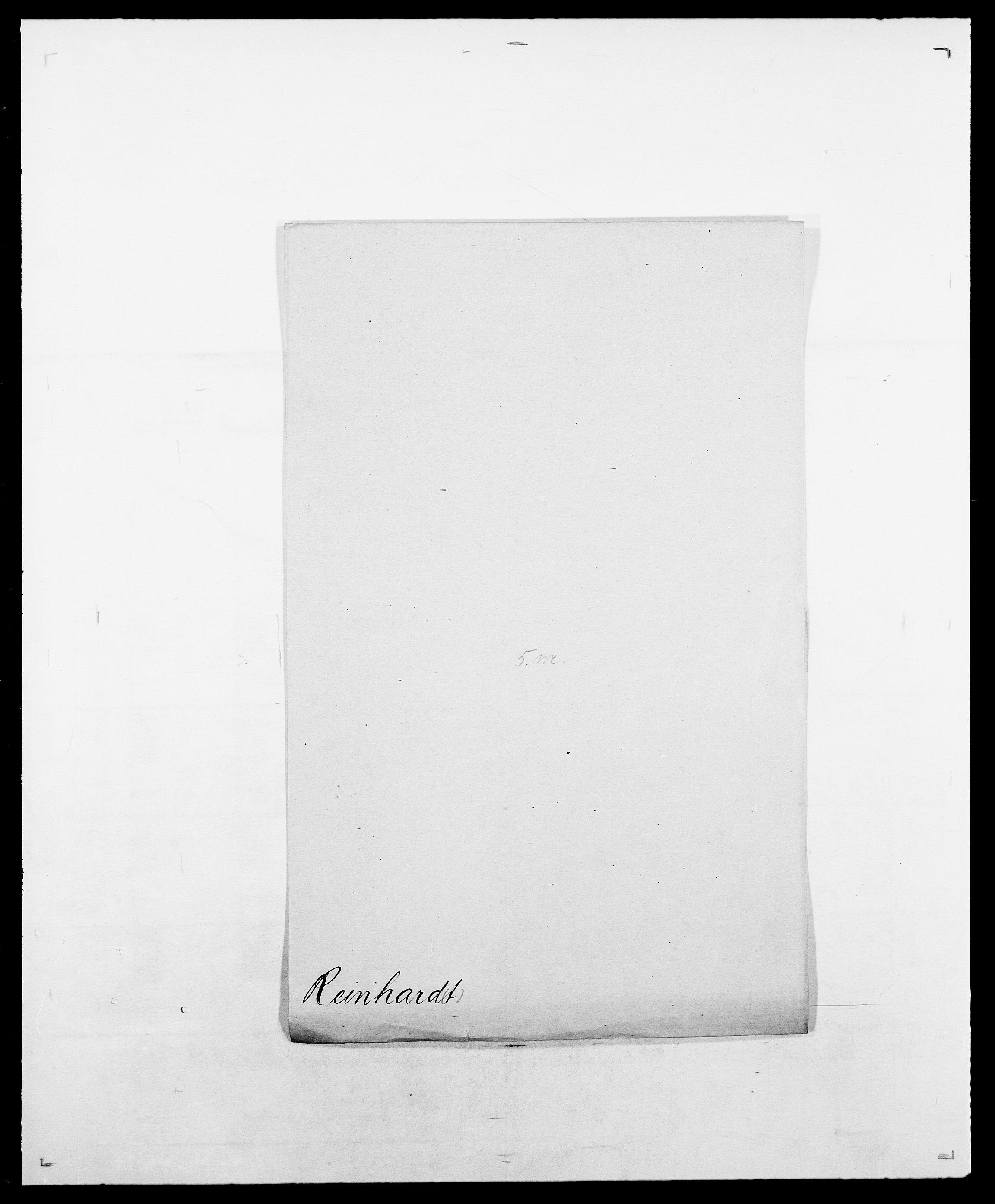 SAO, Delgobe, Charles Antoine - samling, D/Da/L0032: Rabakovsky - Rivertz, s. 381