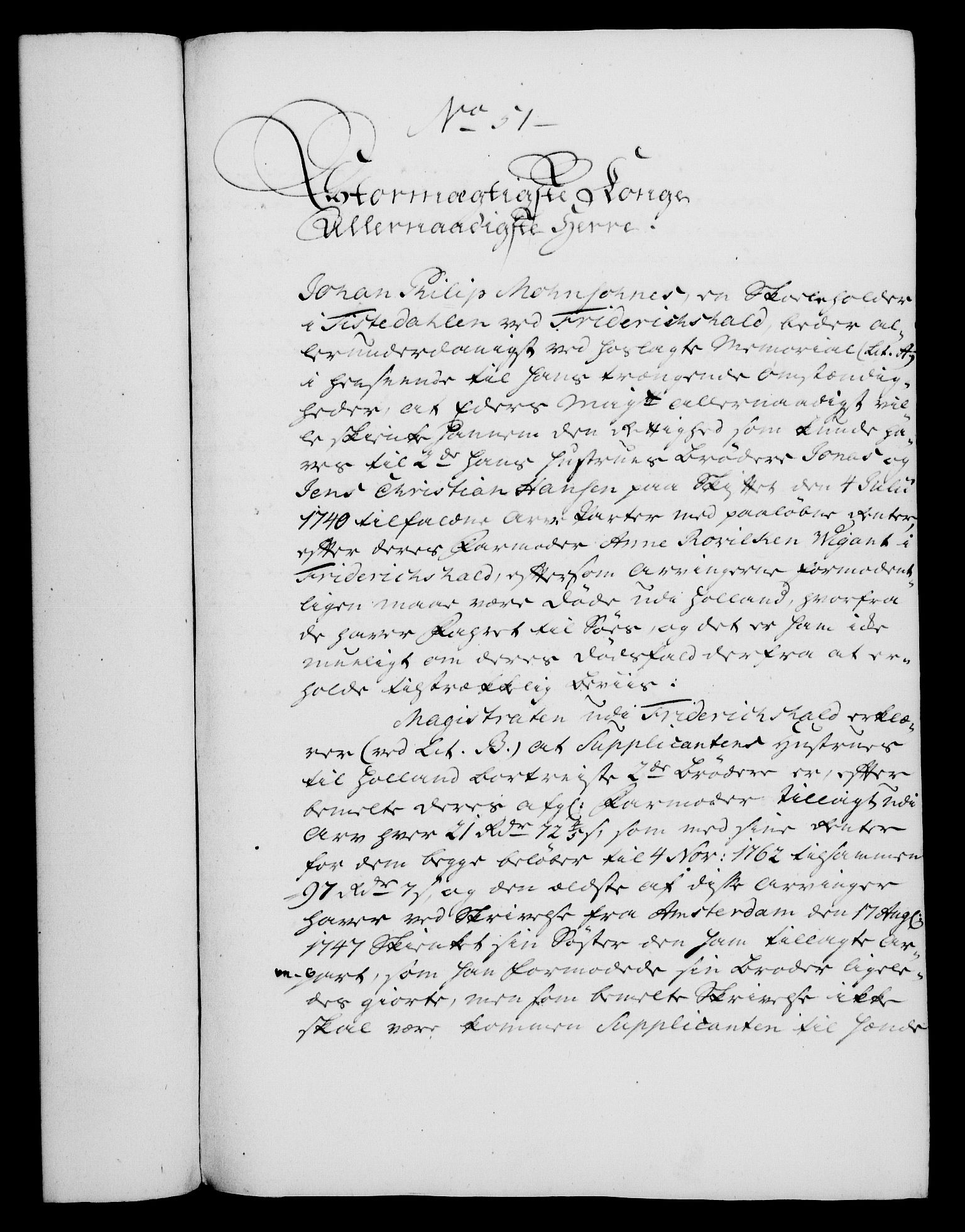 RA, Rentekammeret, Kammerkanselliet, G/Gf/Gfa/L0045: Norsk relasjons- og resolusjonsprotokoll (merket RK 52.45), 1763, s. 205