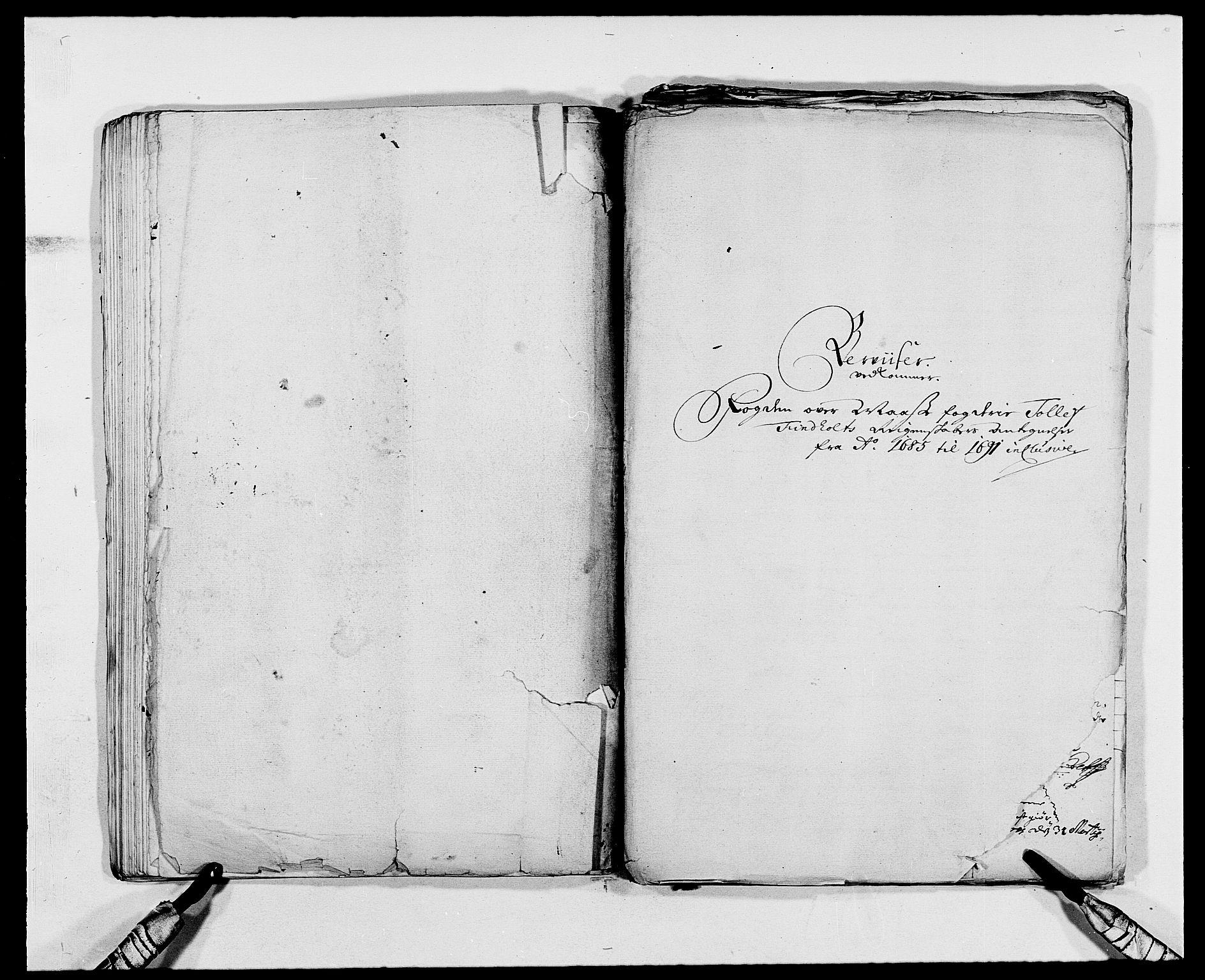 RA, Rentekammeret inntil 1814, Reviderte regnskaper, Fogderegnskap, R02/L0107: Fogderegnskap Moss og Verne kloster, 1685-1691, s. 408